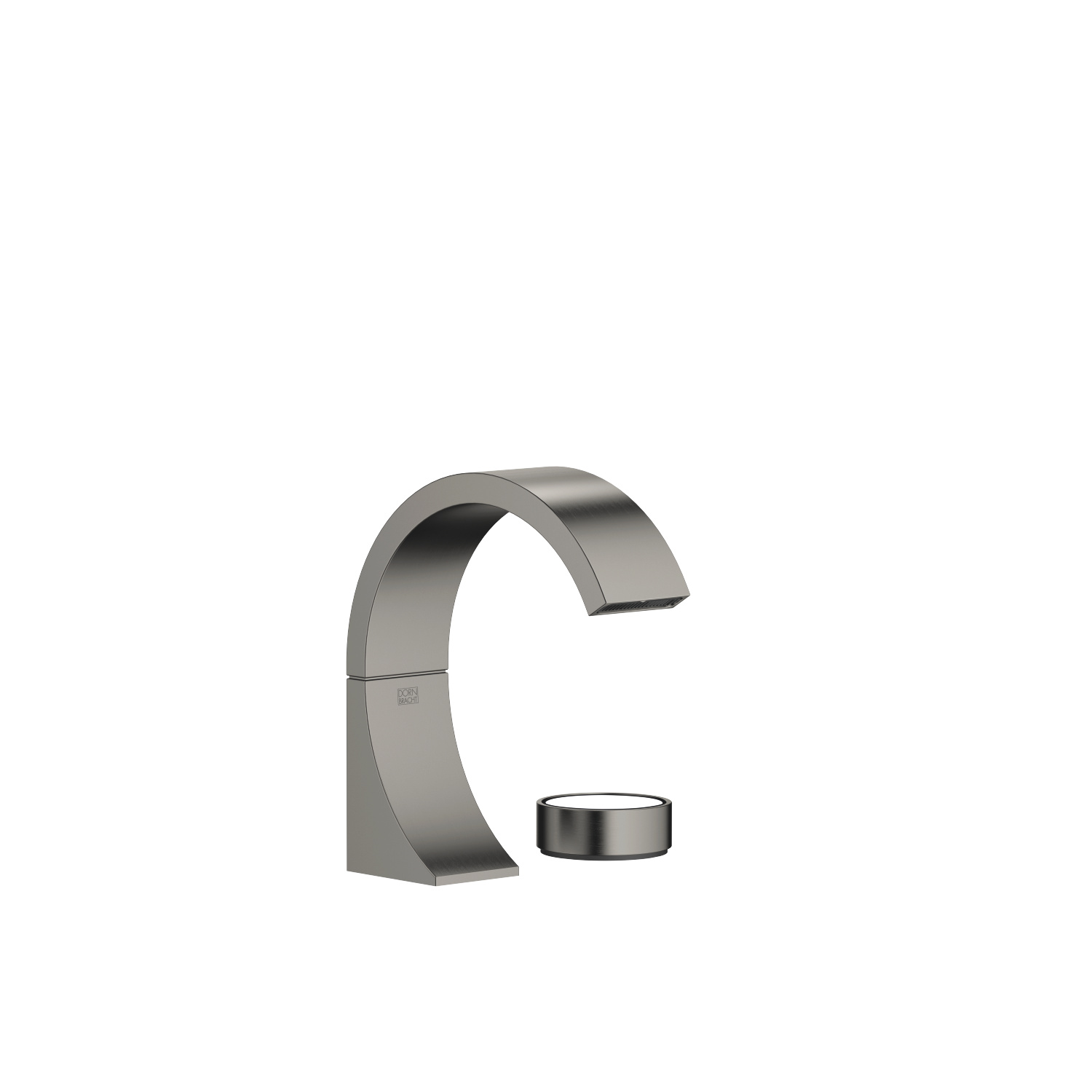Two-hole lavatory mixer without drain - Dark Platinum matte