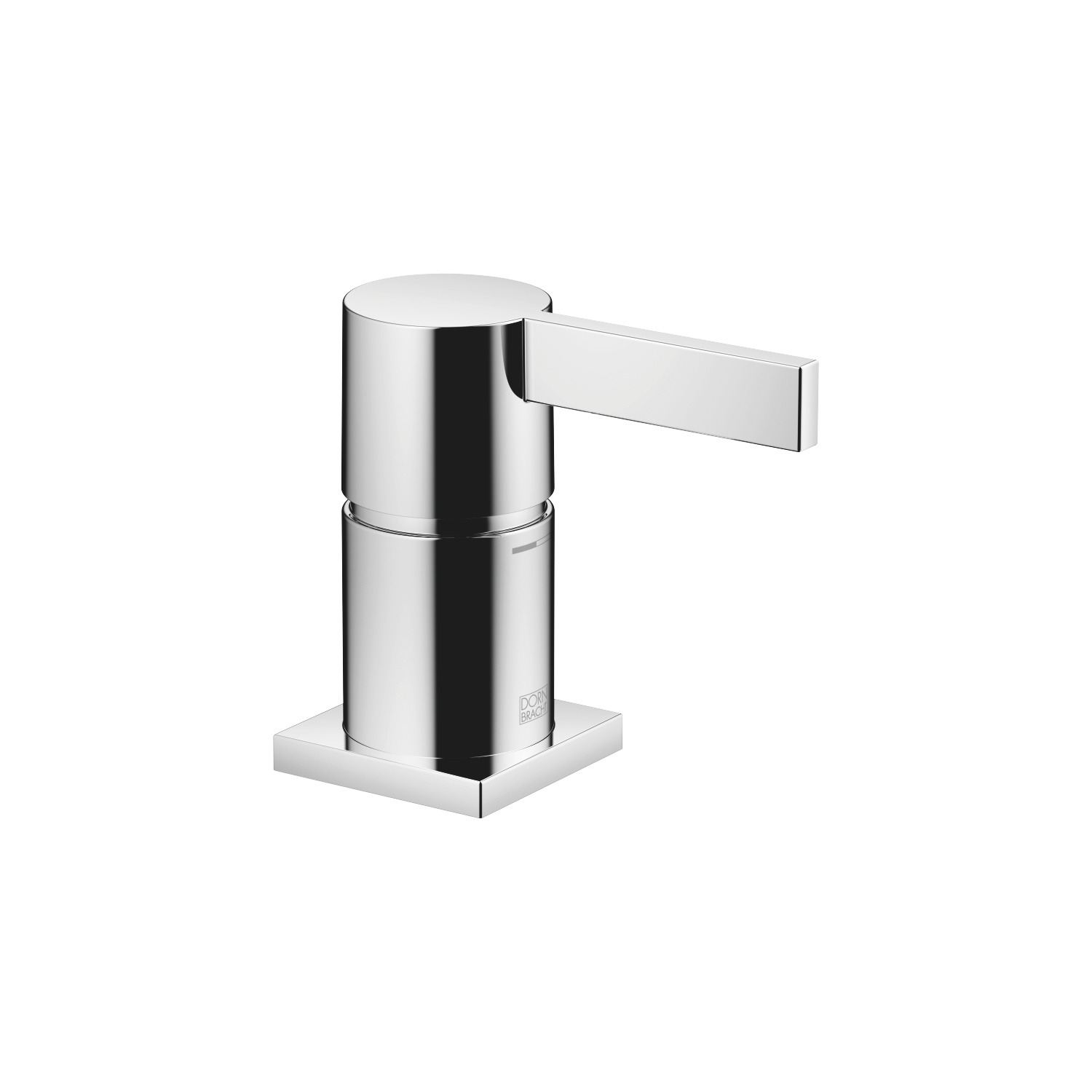 Single-lever tub mixer for deck-mounted tub installation - polished chrome
