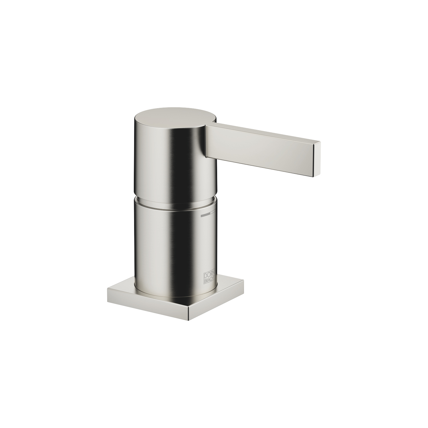 Single-lever bath mixer for bath rim or tile edge installation - platinum matt - 29 300 670-06