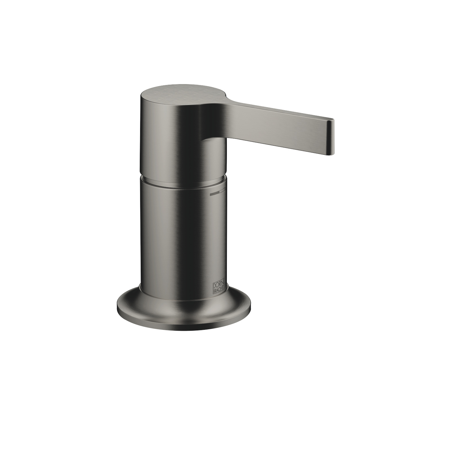 Single-lever bath mixer for bath rim or tile edge installation - Dark Platinum matt - 29 300 809-99