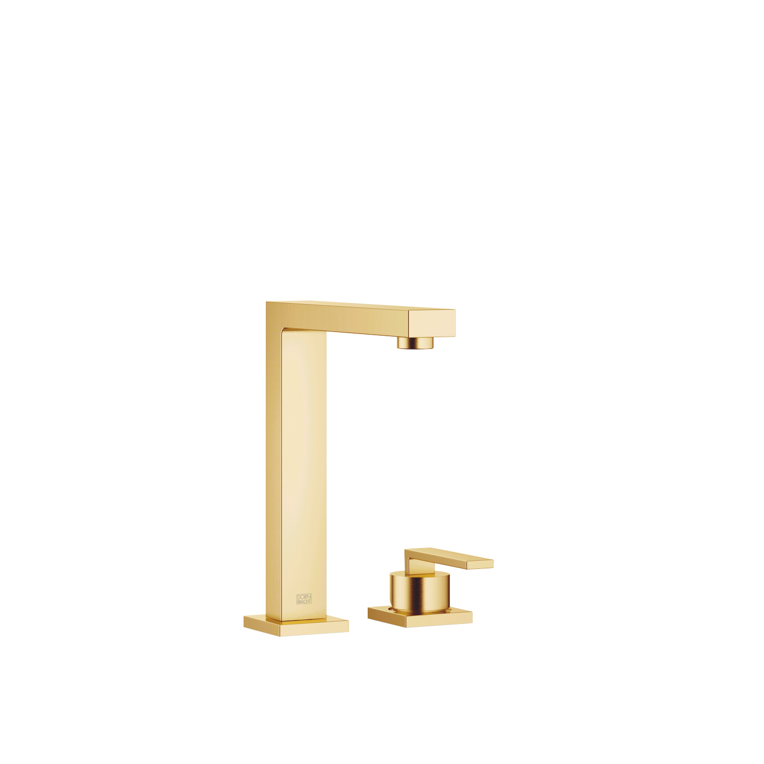 BAR TAP Two-hole mixer with individual rosettes - brushed Durabrass - 32 805 680-28