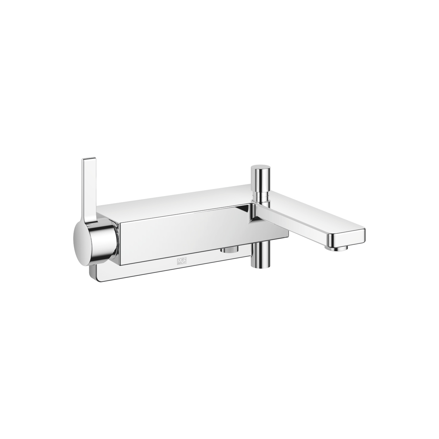 Single-lever bath mixer for wall mounting without shower set - polished chrome - 33 200 710-00