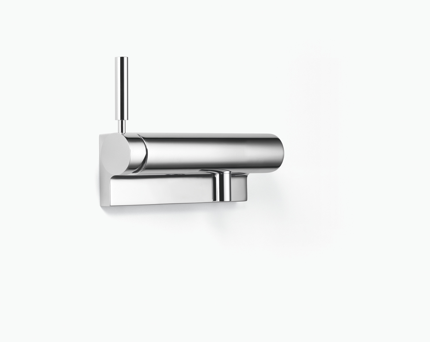 Single-lever shower mixer for wall mounting - platinum matt - 33 300 885-06