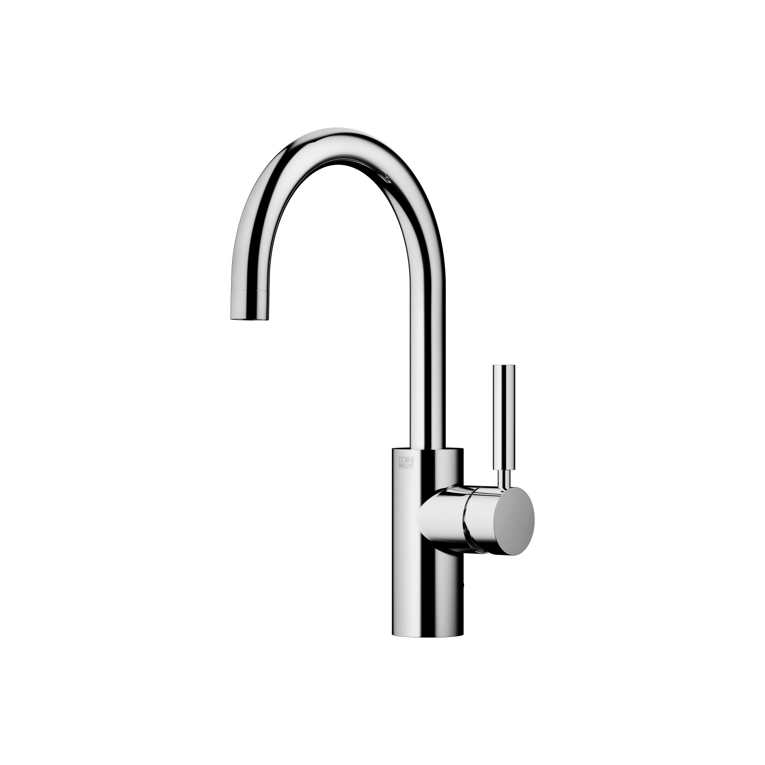 Single-lever lavatory mixer with drain - Cyprum