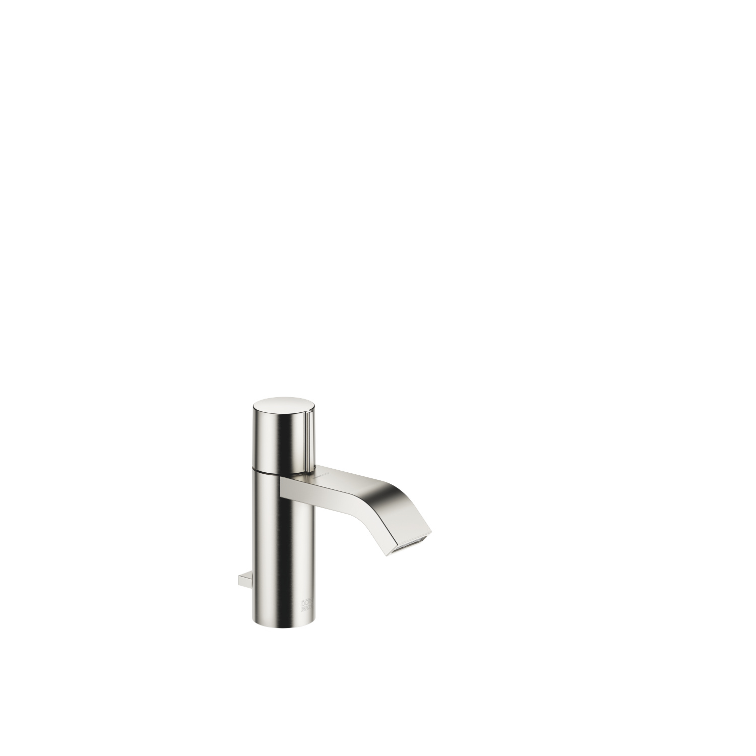 Single-lever basin mixer with pop-up waste - platinum matt - 33 507 670-06