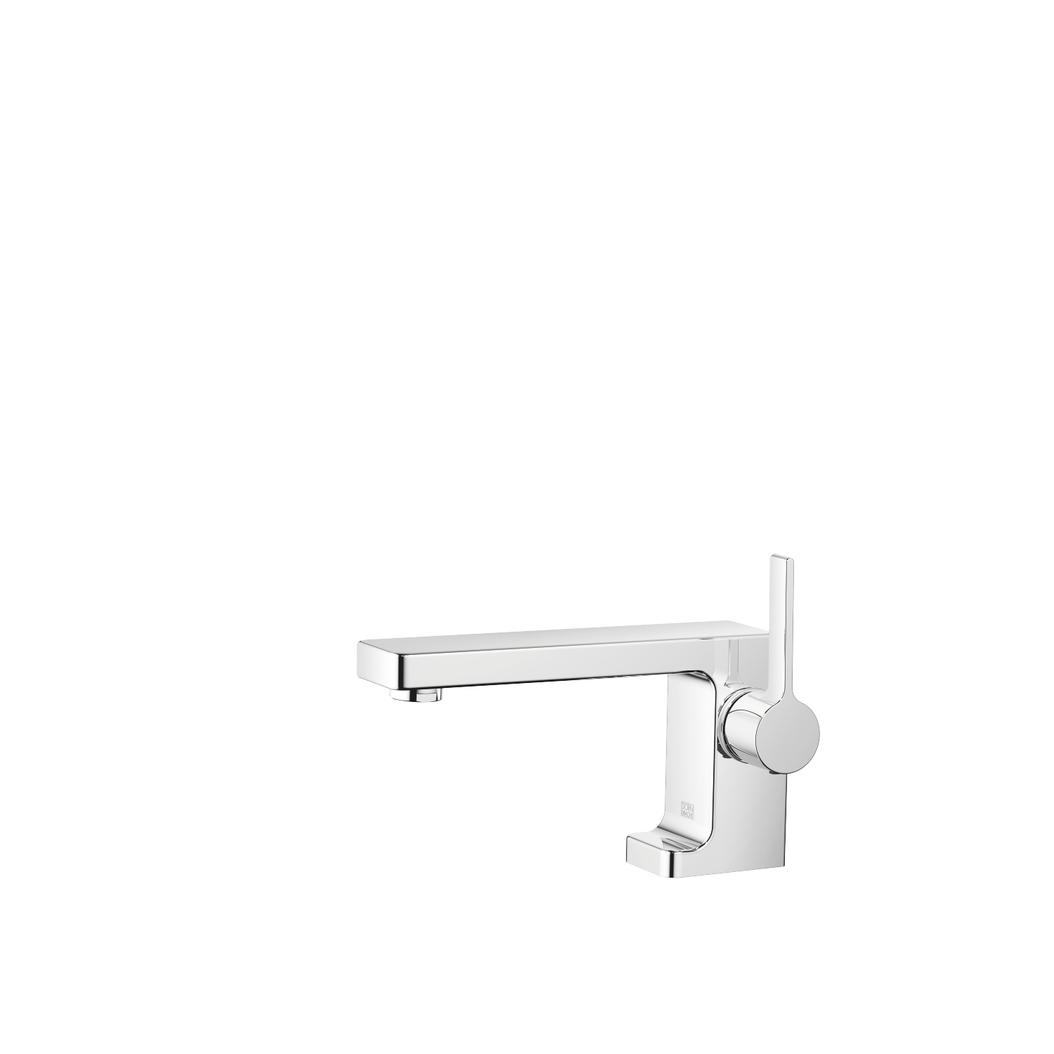 Single-lever basin mixer without pop-up waste - polished chrome - 33 521 710-00 0010