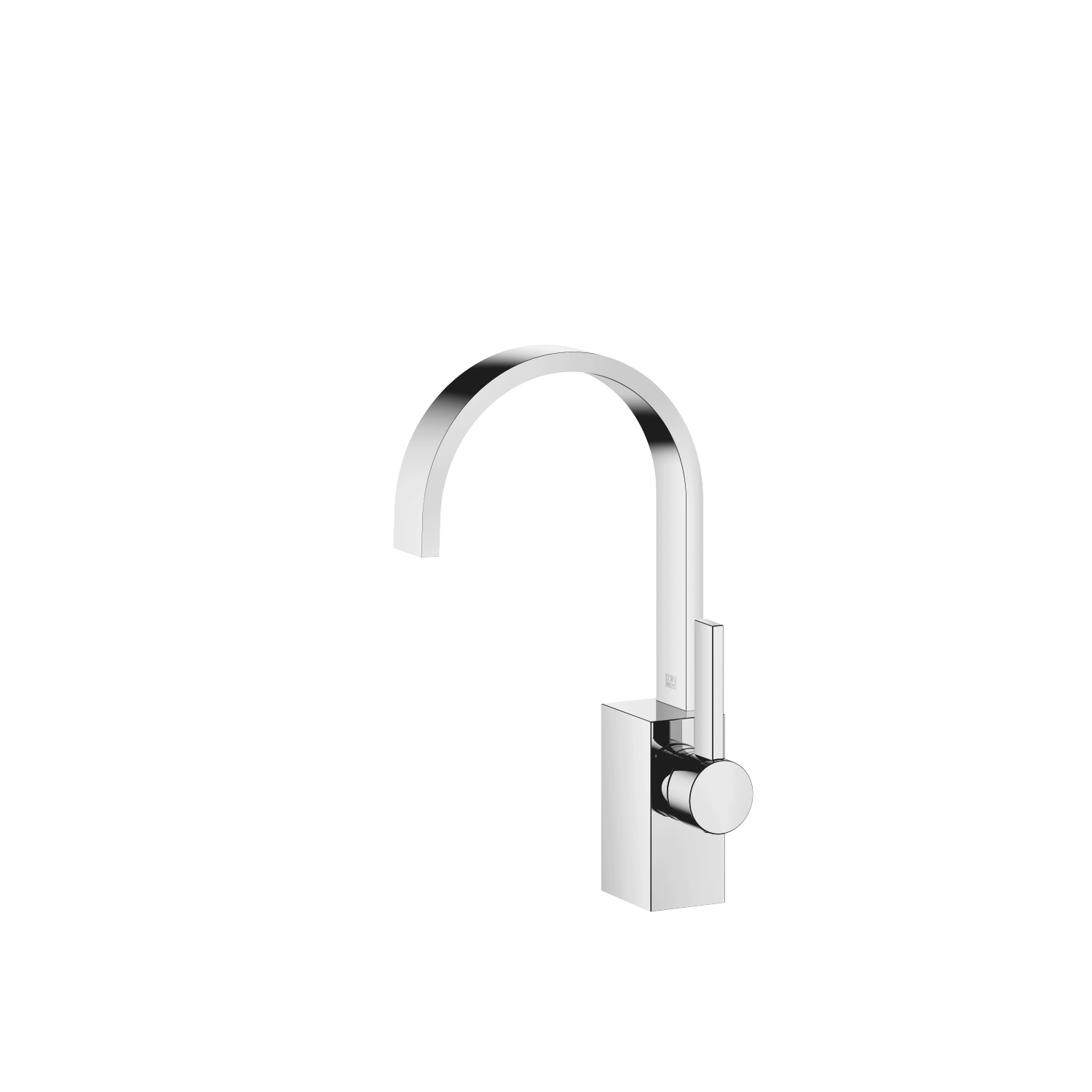 Single-lever basin mixer without pop-up waste - polished chrome - 33 521 782-00