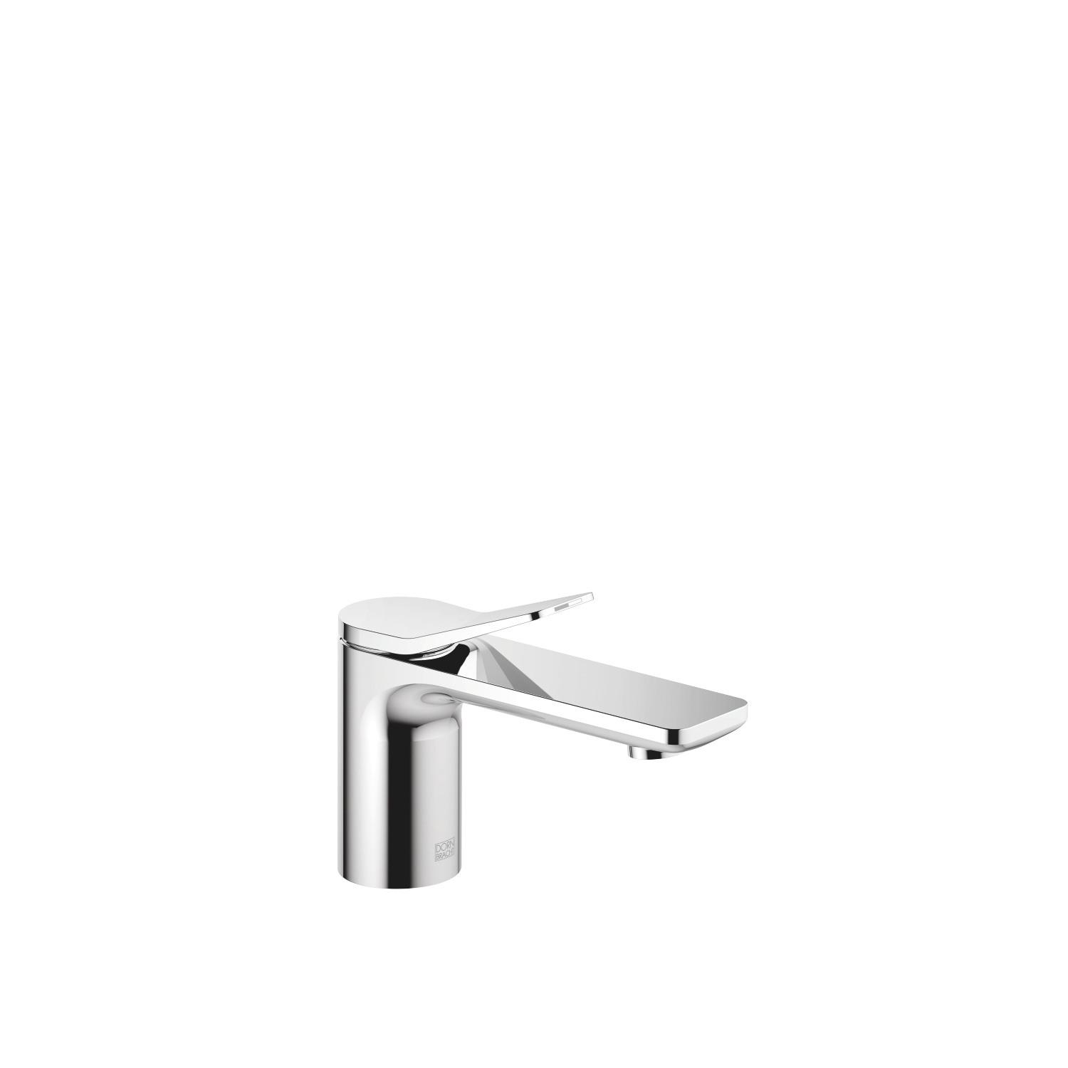 Single-lever basin mixer without pop-up waste - polished chrome - 33 521 845-00