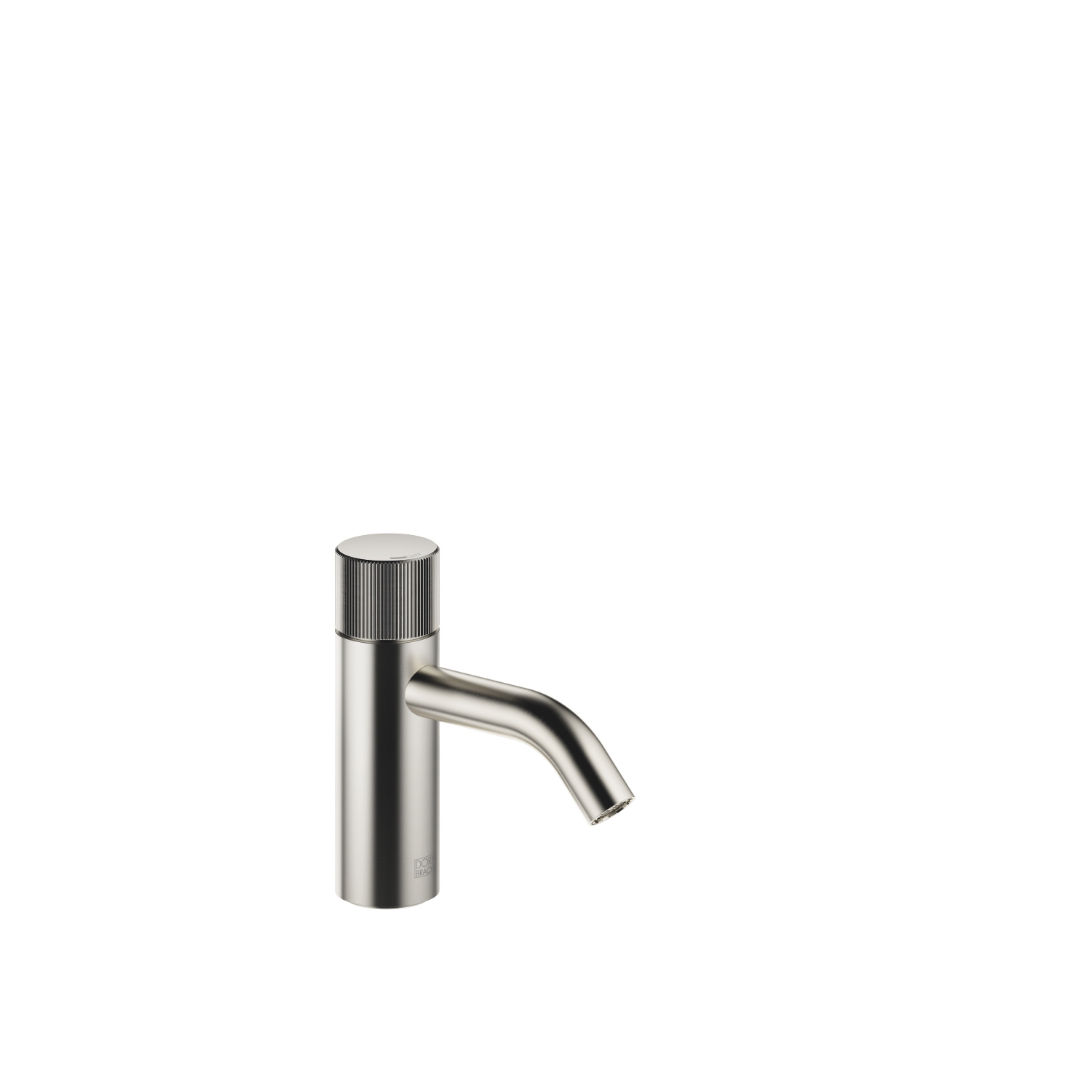 META PURE Single-lever basin mixer without pop-up waste - platinum matt