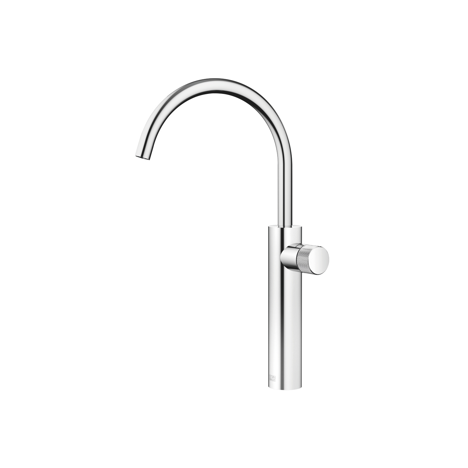 META PURE Single-lever lavatory mixer with extended shank without drain - polished chrome