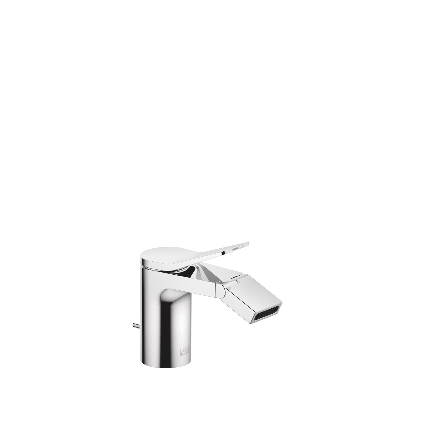 Single-lever bidet mixer with pop-up waste - polished chrome - 33 600 845-00