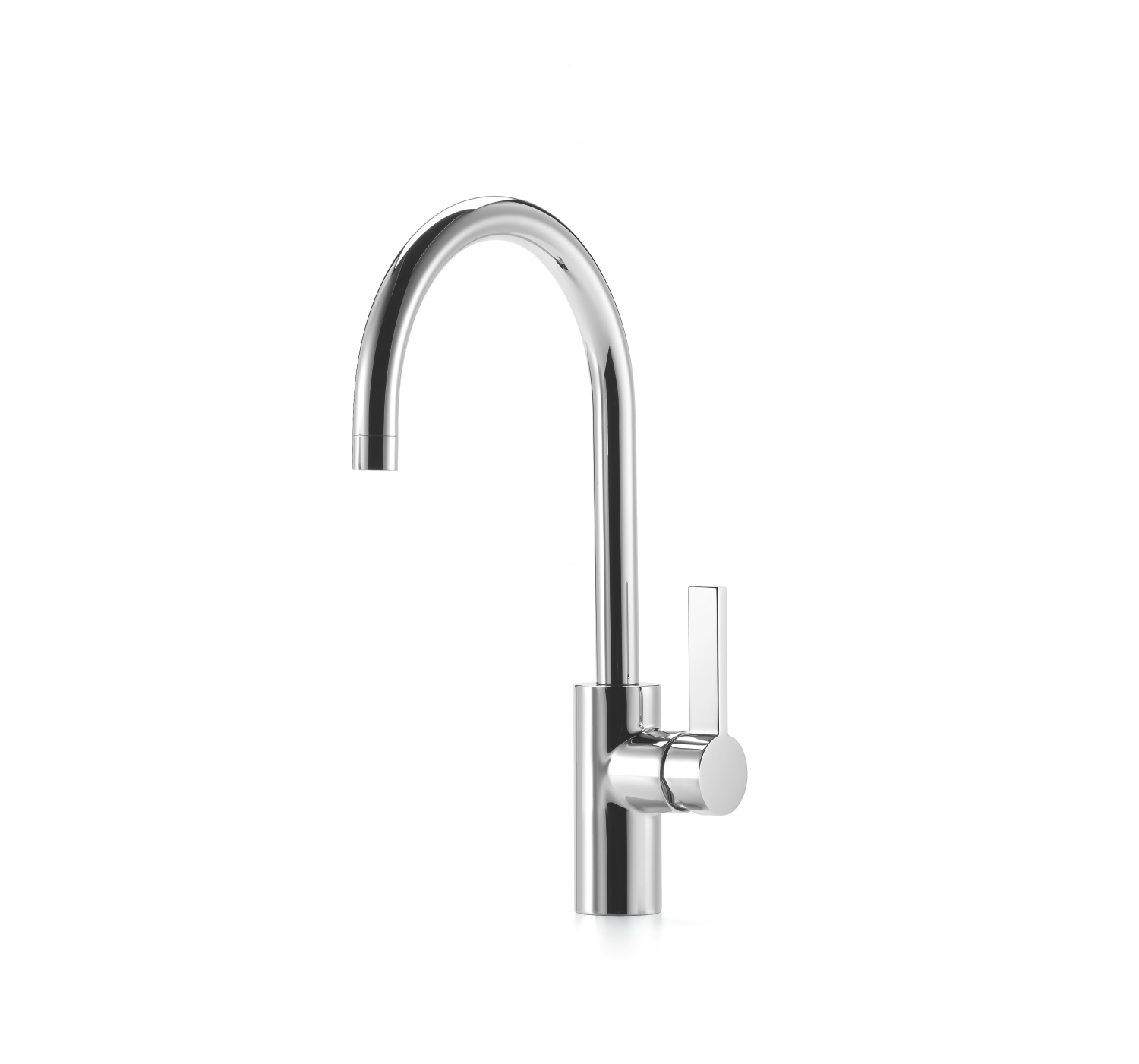 Single-lever mixer - platinum matt