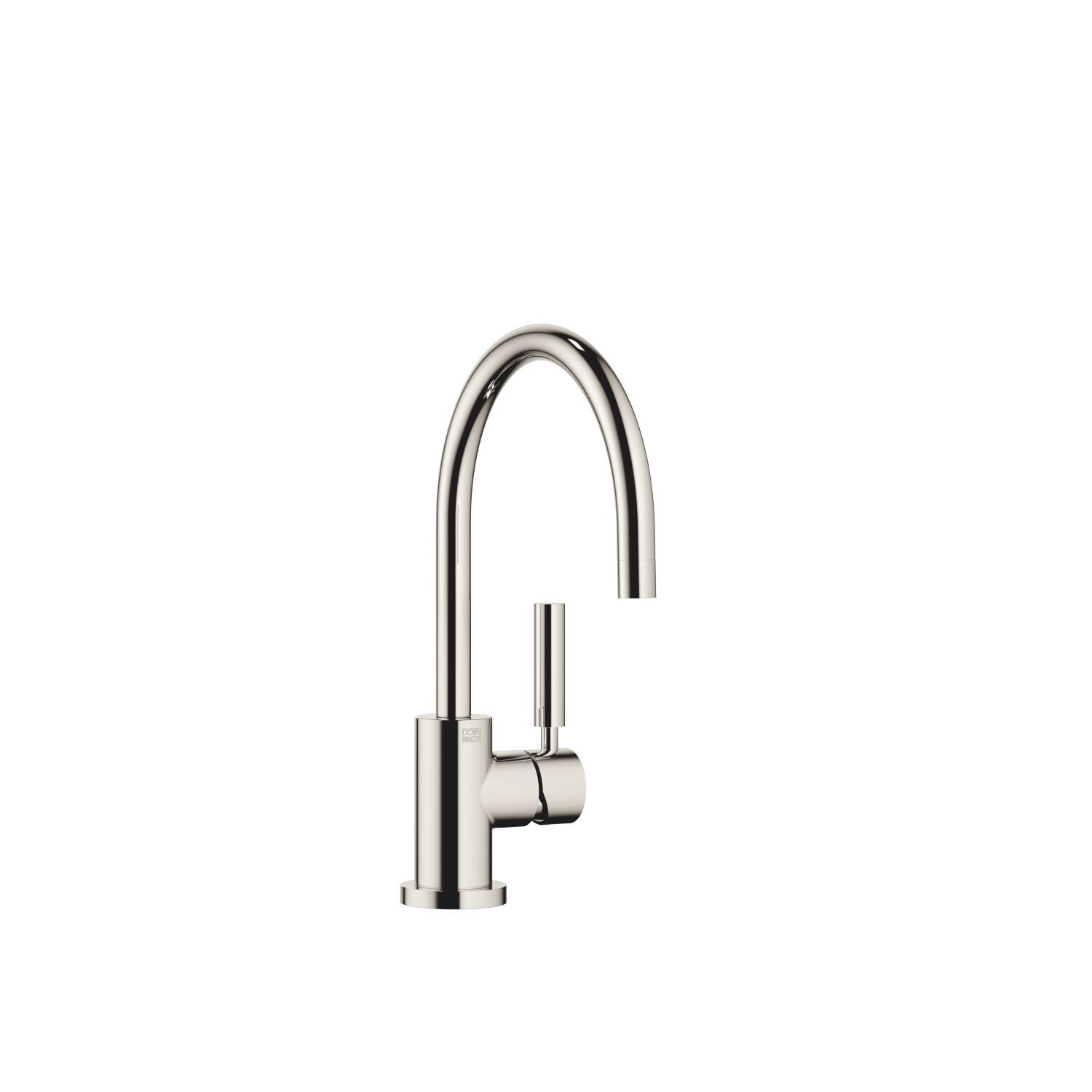Single-lever mixer - platinum