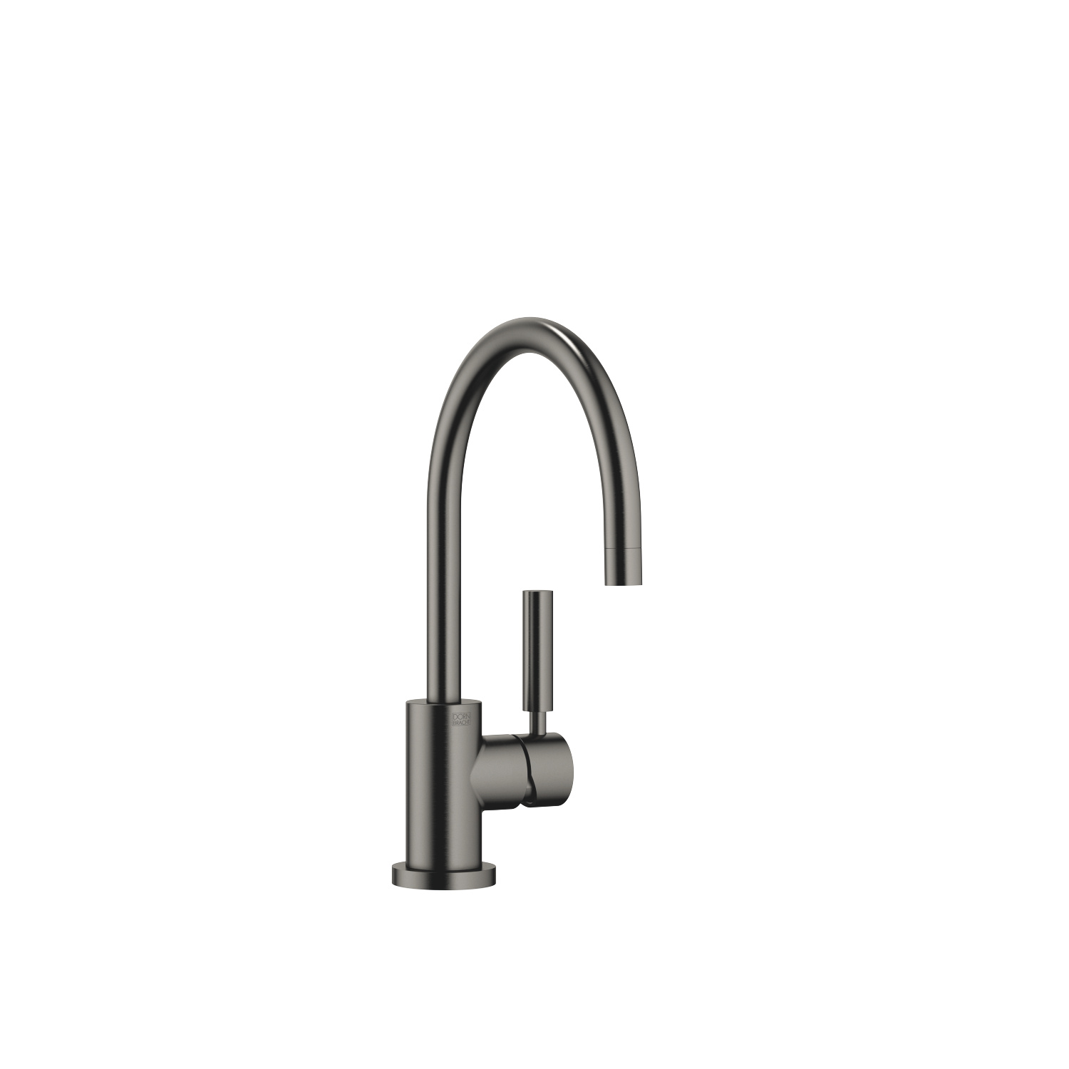 Single-lever mixer - Dark Platinum matt