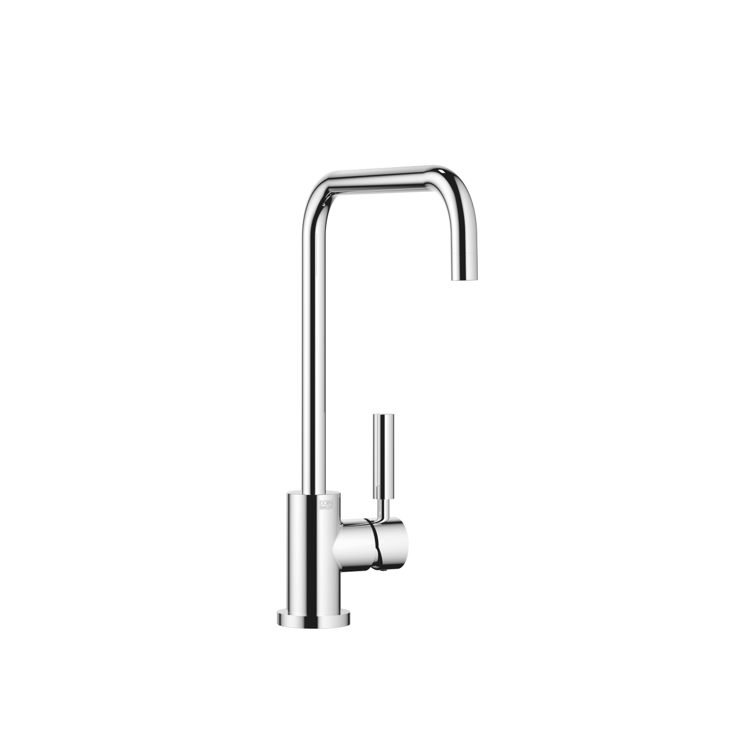 Single-lever mixer - polished chrome