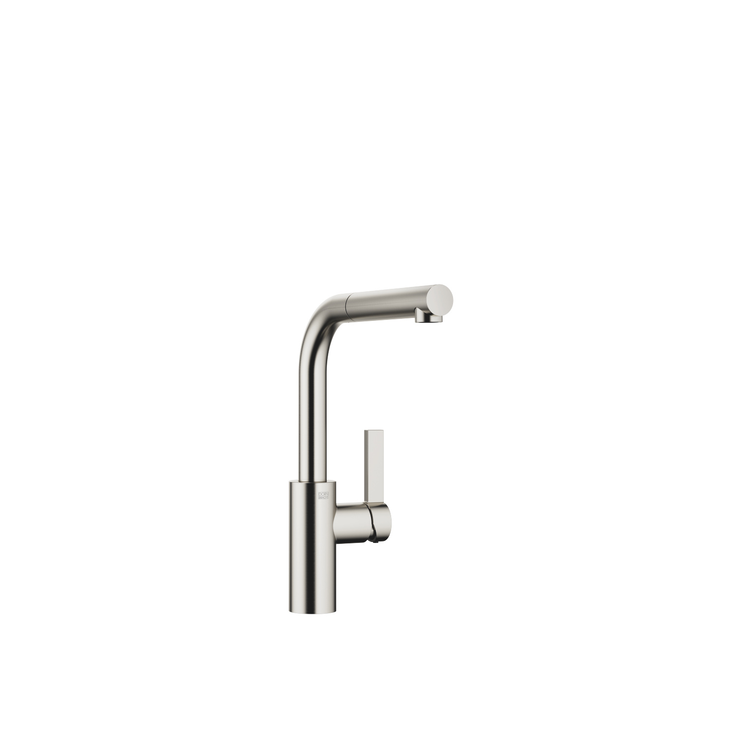 Single-lever mixer Pull-out - platinum matt