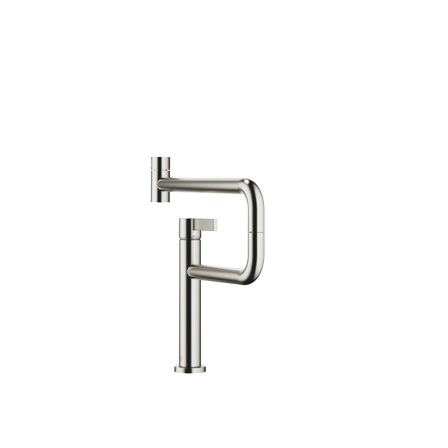 PIVOT Single-lever mixer - platinum matt