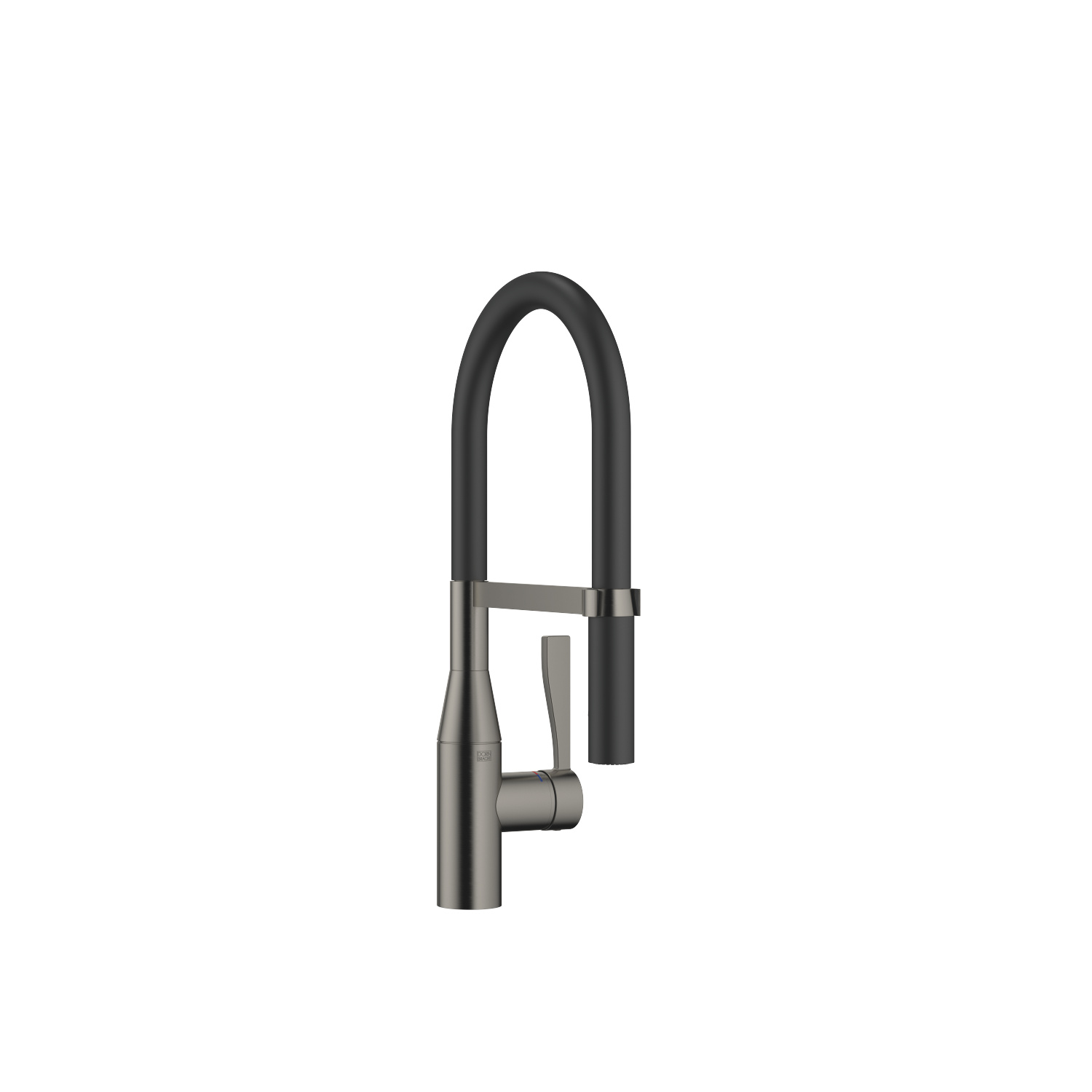 Profi single-lever mixer - Dark Platinum matt - 33 865 895-99