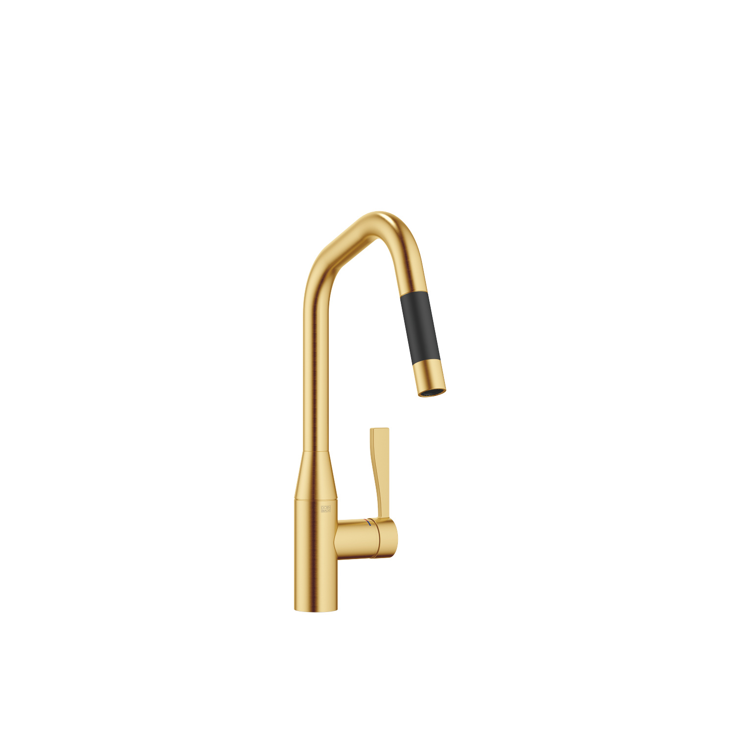 Single-lever mixer pull-down with spray function - Brushed Durabrass