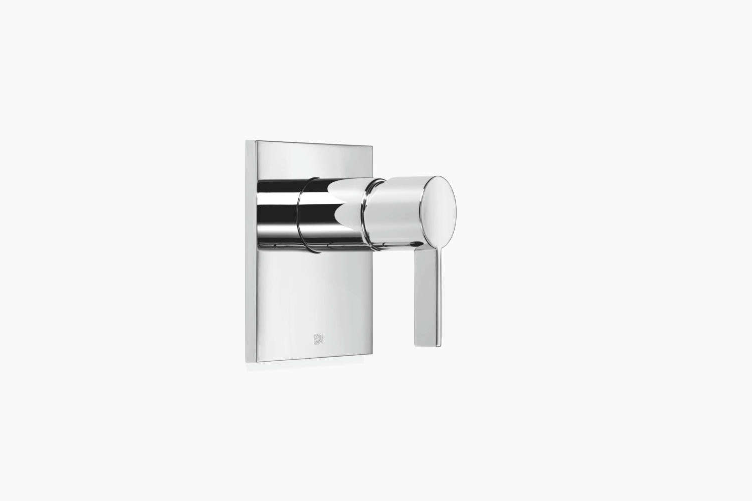 xSTREAM Concealed single-lever mixer without diverter - platinum