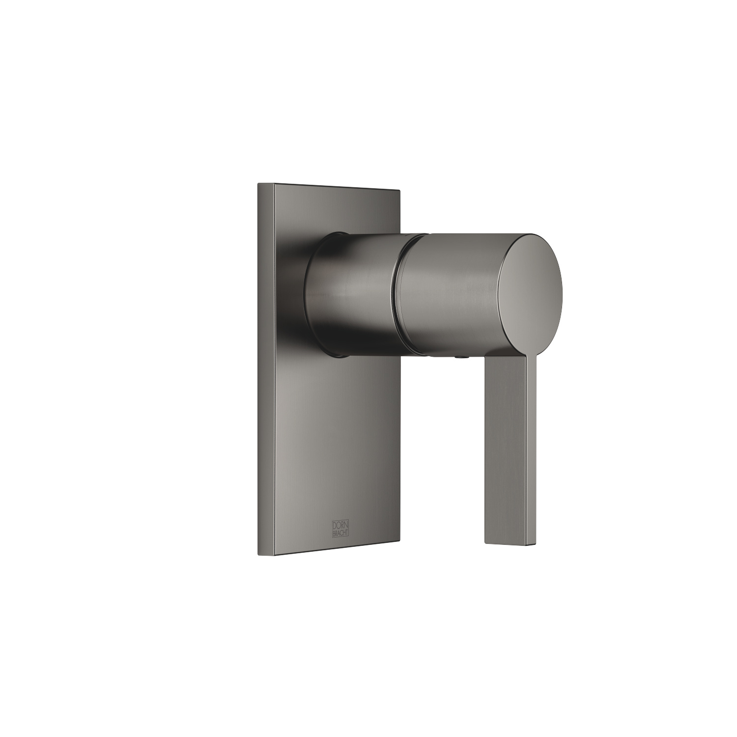Concealed single-lever mixer without diverter - Dark Platinum matt