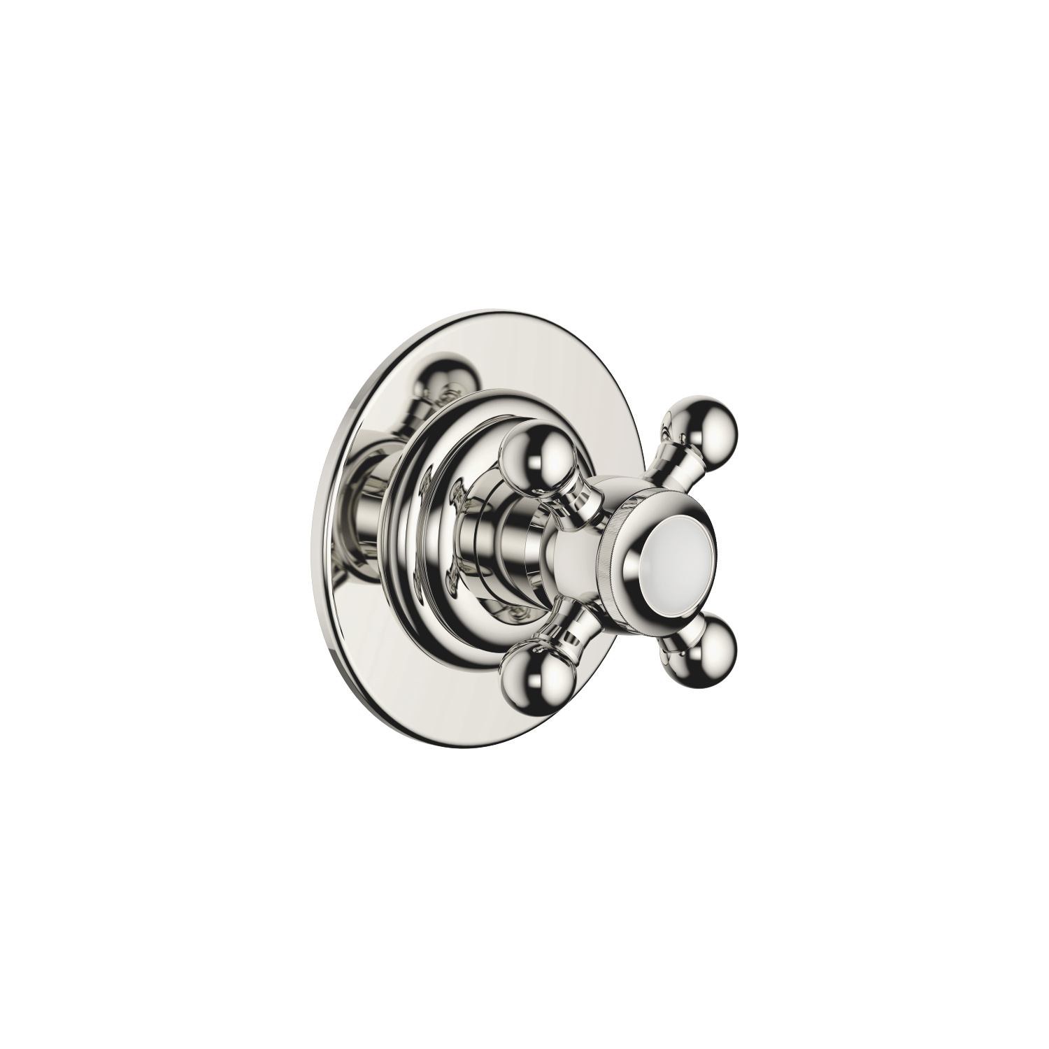 Wall mounted two- and three-way diverter trim - platinum