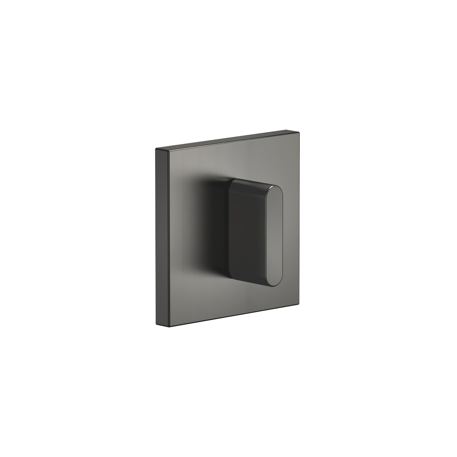 Concealed two- and three-way diverter - Dark Platinum matt