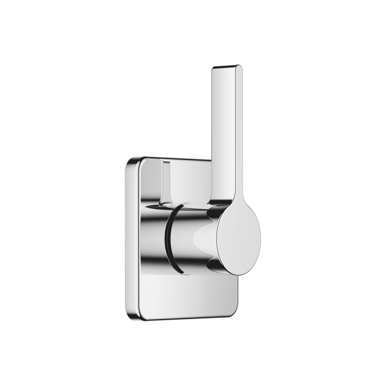 Concealed two- and three-way diverter - polished chrome