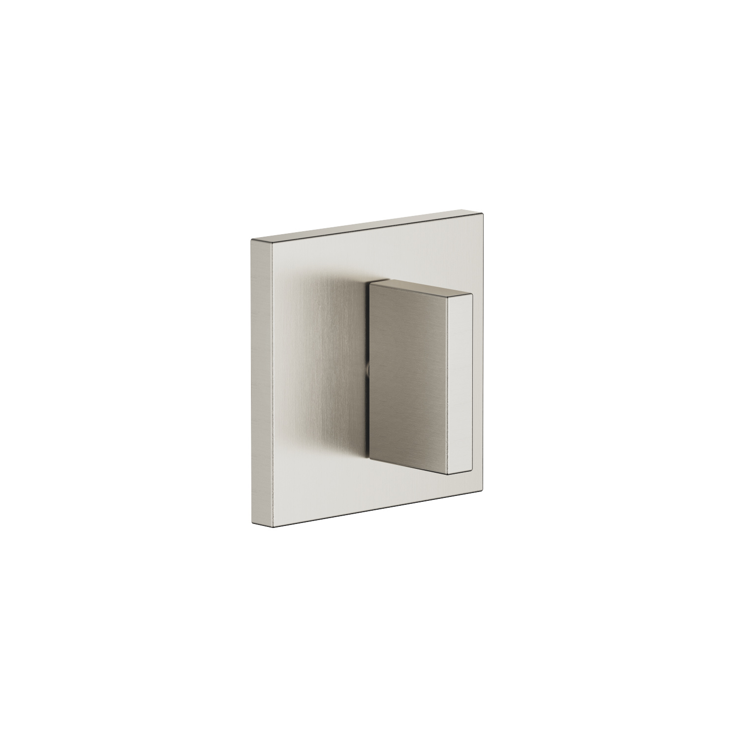 Concealed two- and three-way diverter - platinum matt