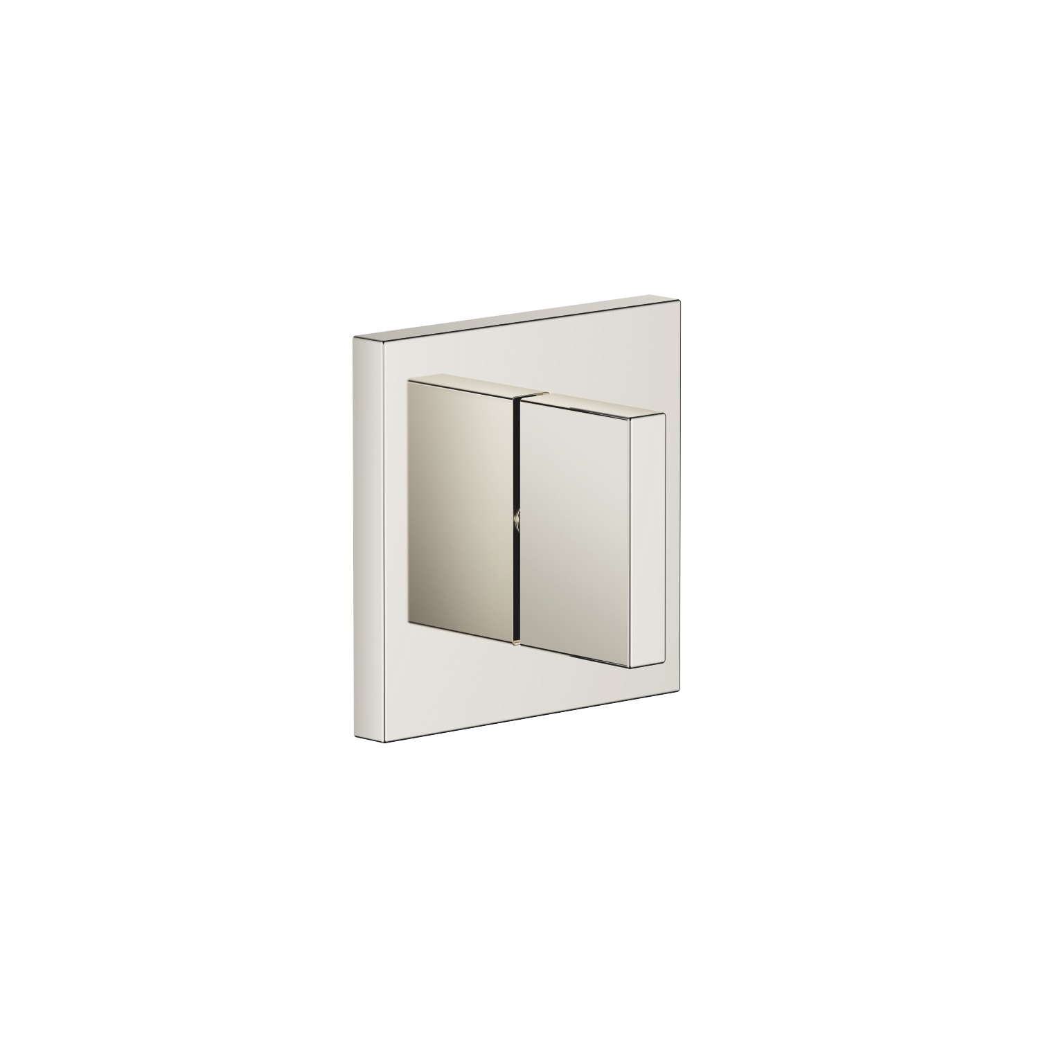 Concealed two- and three-way diverter - platinum