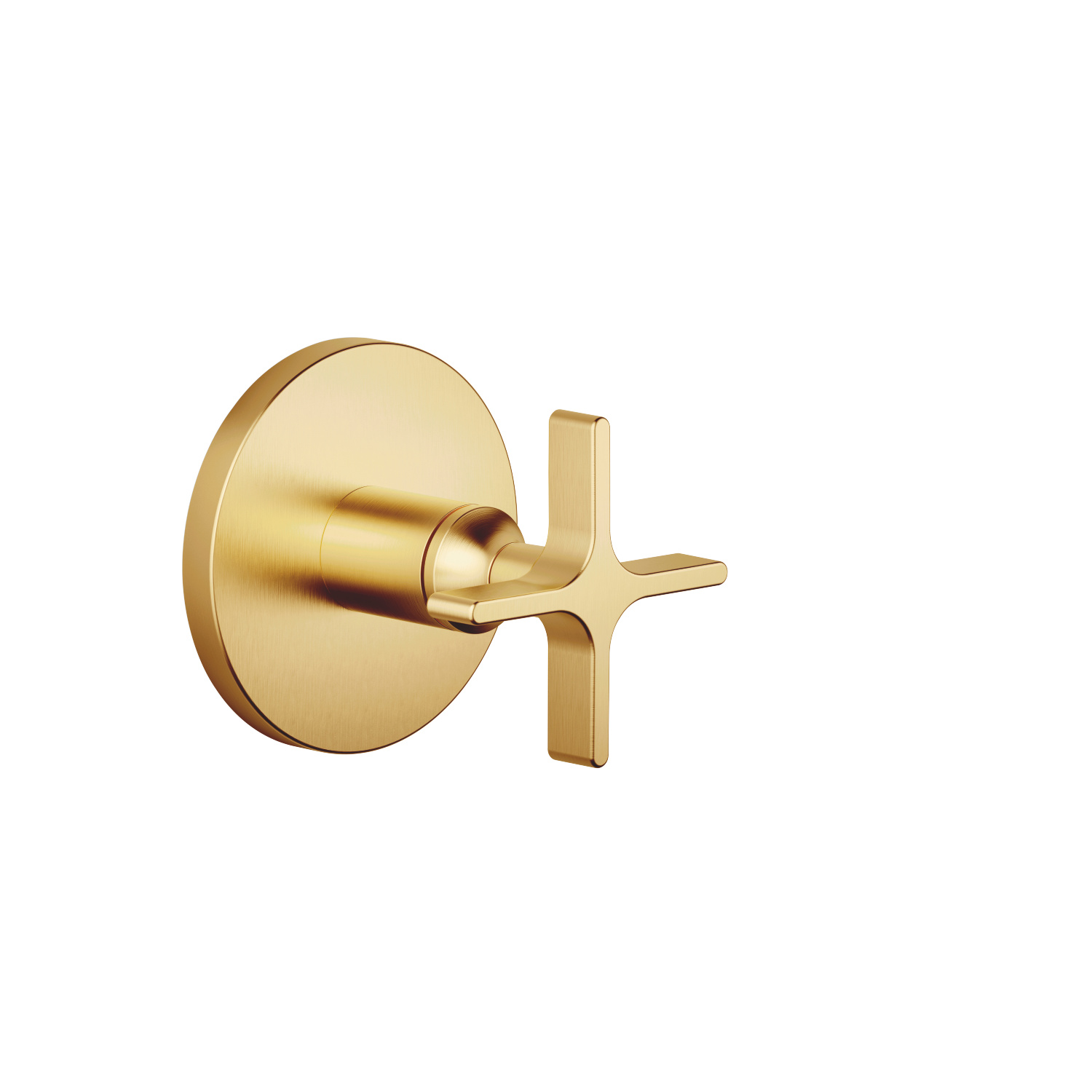 Concealed two- and three-way diverter - brushed Durabrass