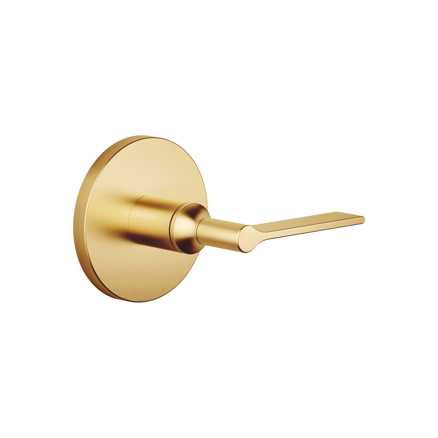 Wall mounted two- and three-way diverter trim - Brushed Durabrass - 36 104 819-28