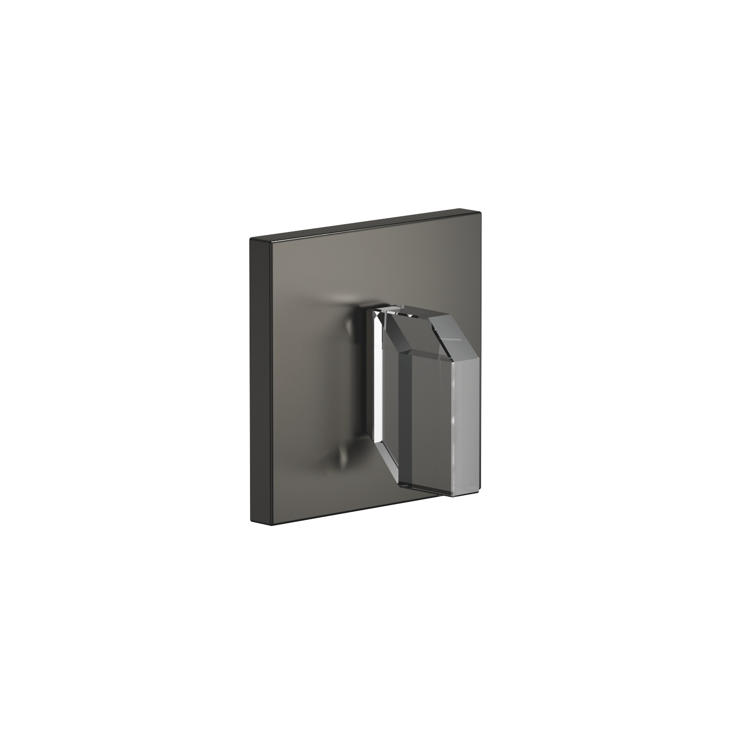 Concealed two- and three-way diverter - Dark Platinum matt - 36 106 705-99