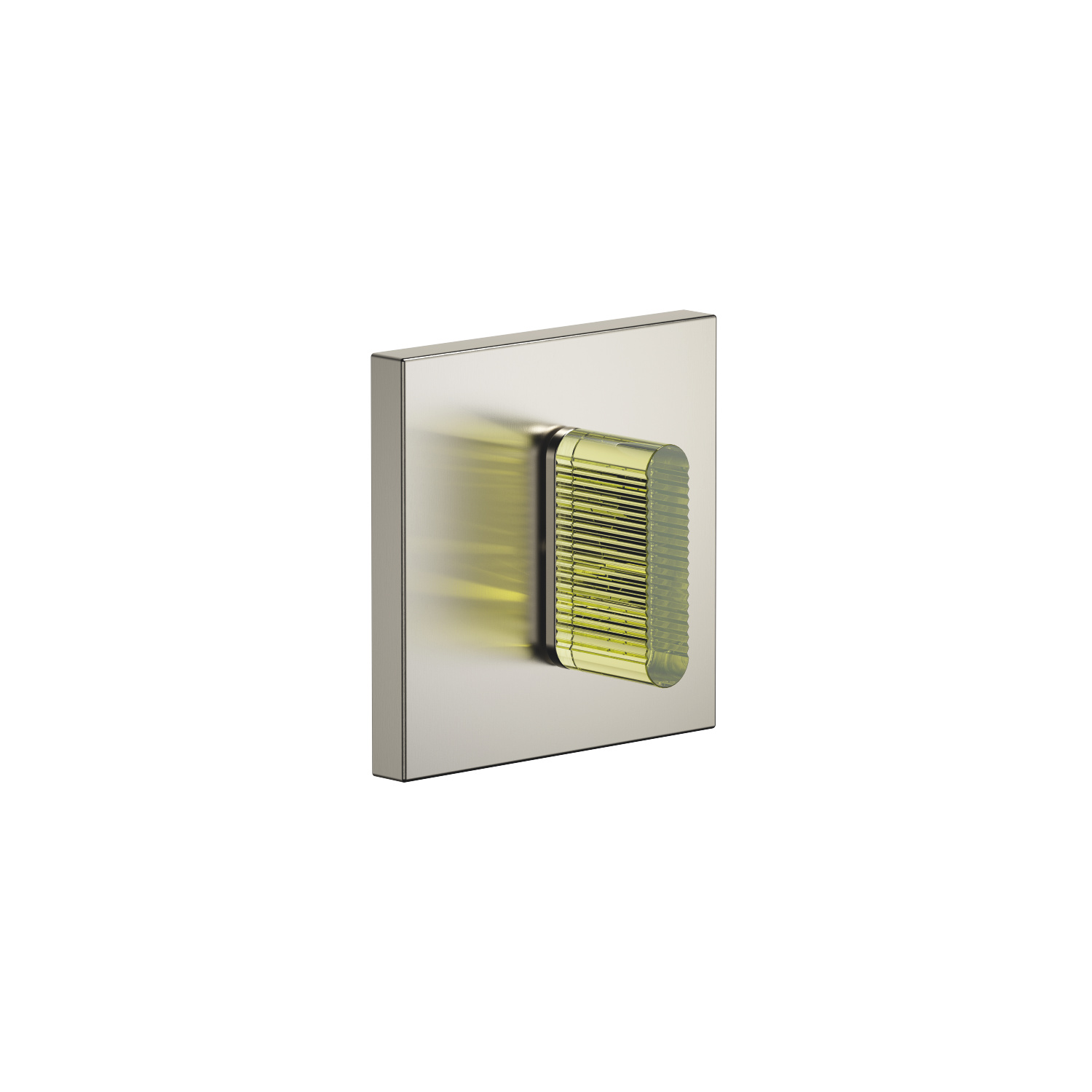 Wall mounted two- and three-way diverter trim - platinum matte