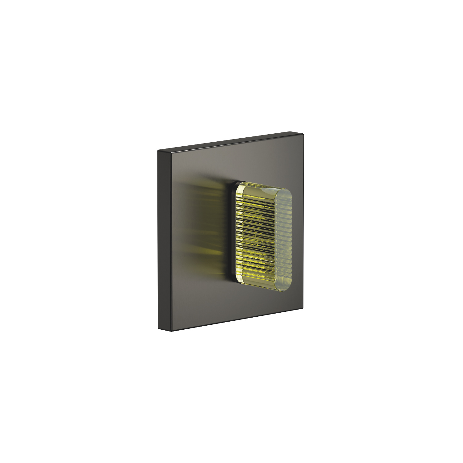 Wall mounted two- and three-way diverter trim - Dark Platinum matte