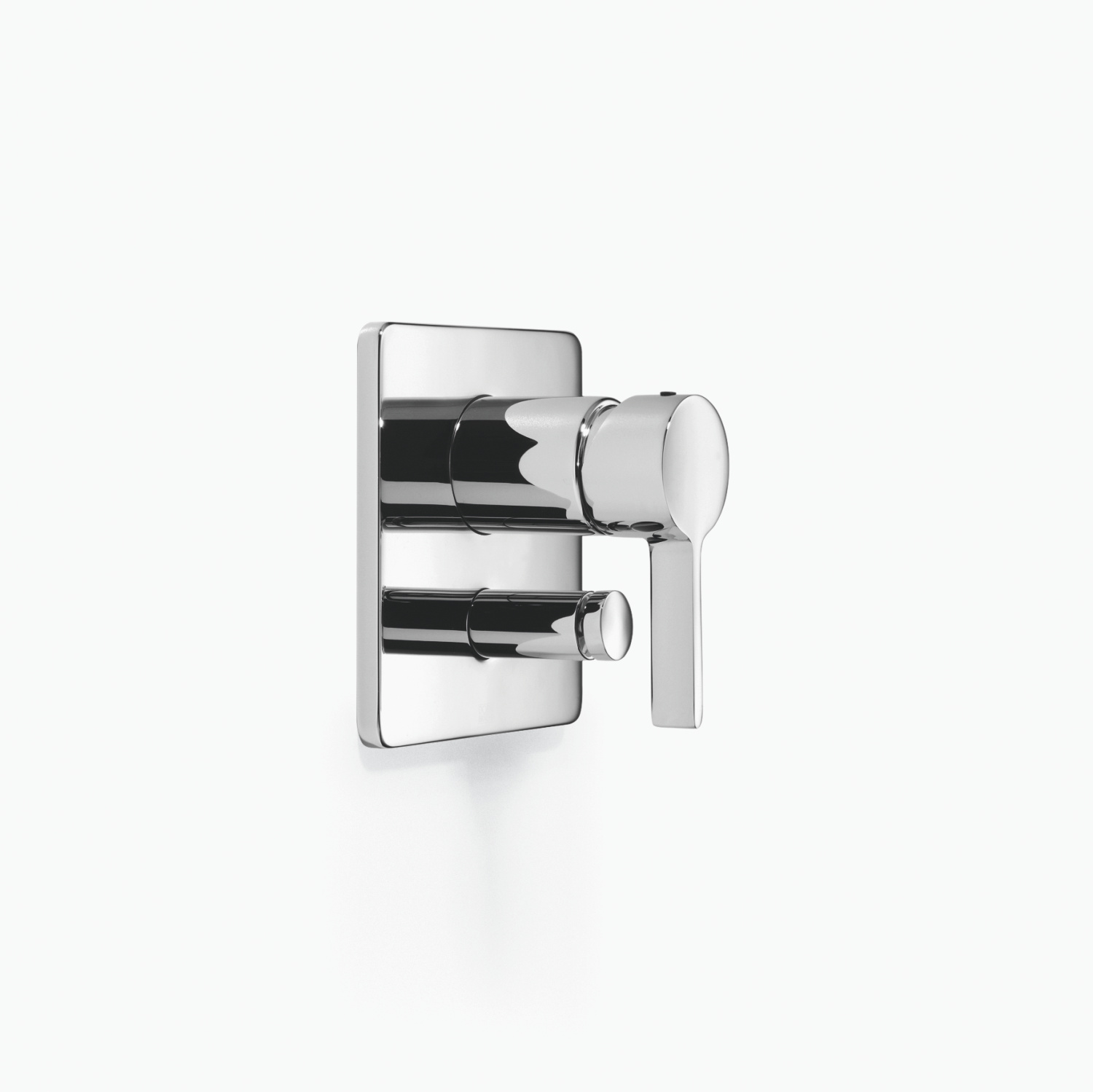 xSTREAM Concealed single-lever mixer with diverter - platinum matt