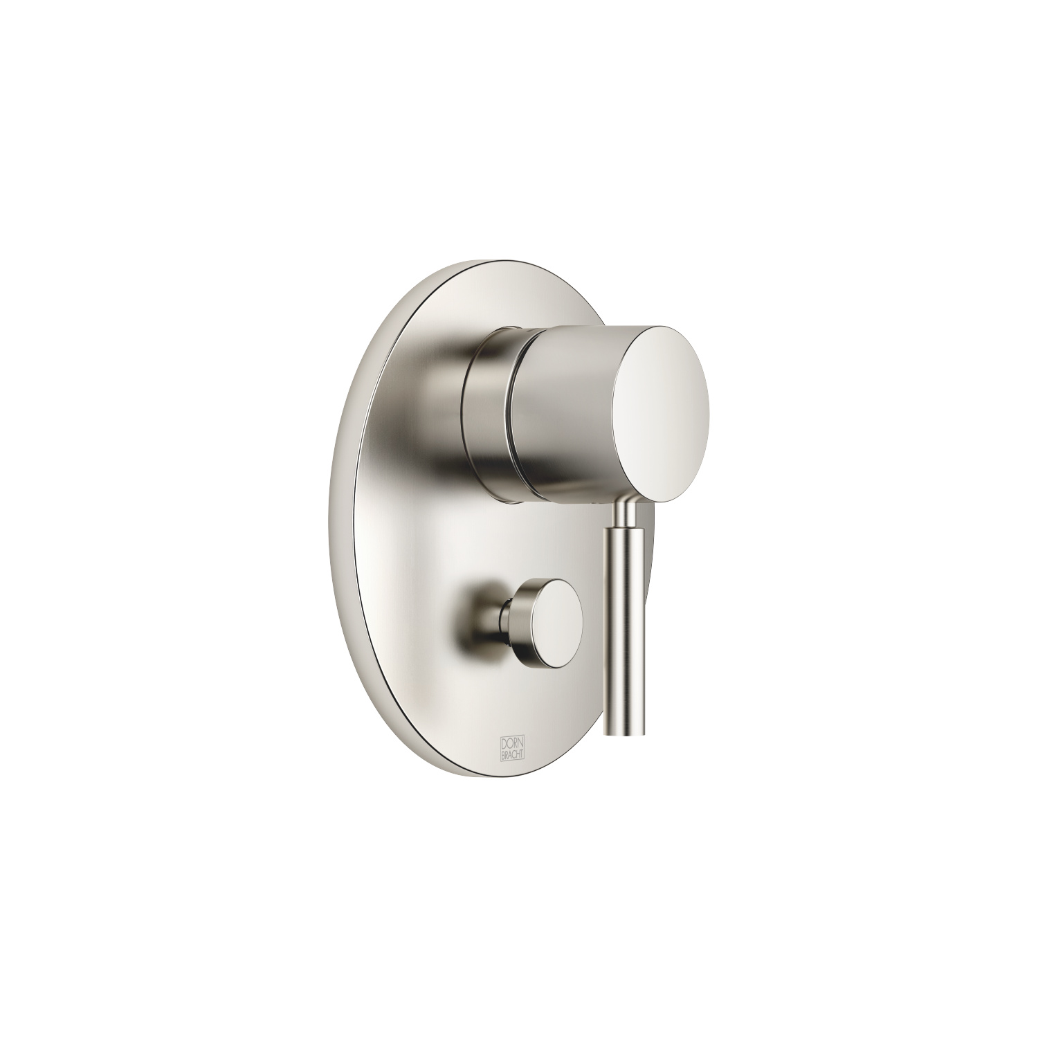 Concealed single-lever mixer with diverter - platinum matt - 36 120 660-06