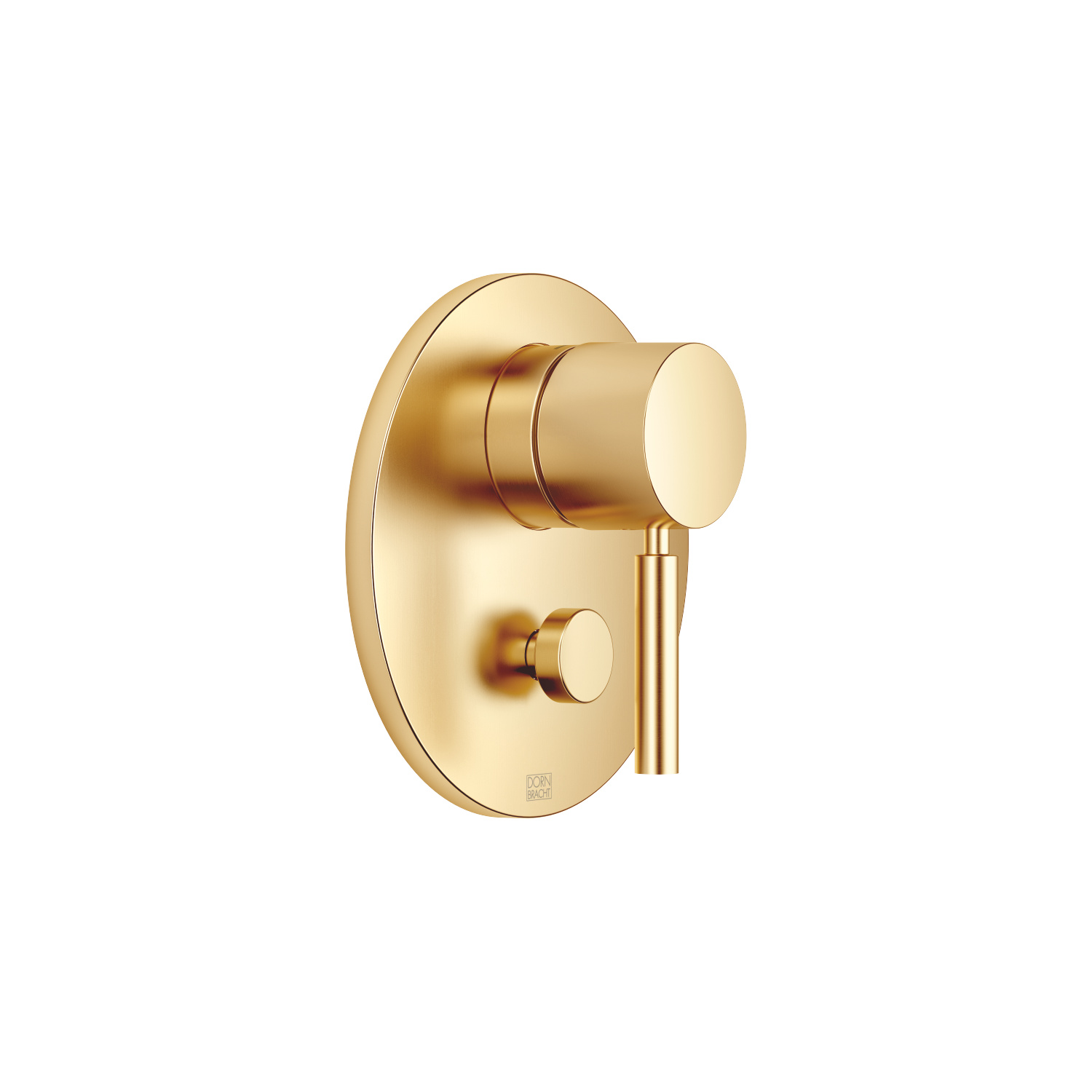 FM one-handed regulator with diverter - Brushed Durabrass