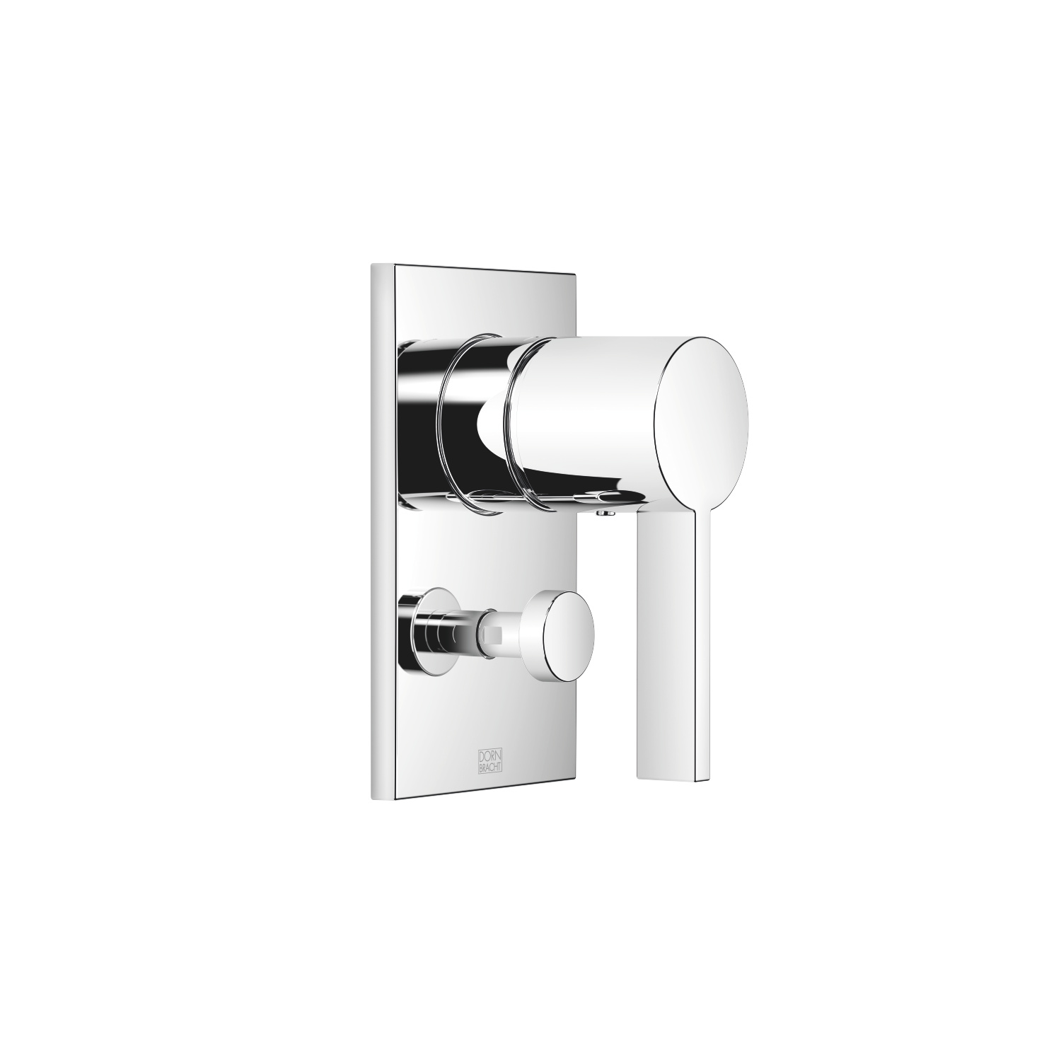Concealed single-lever mixer with diverter - polished chrome - 36 120 670-00