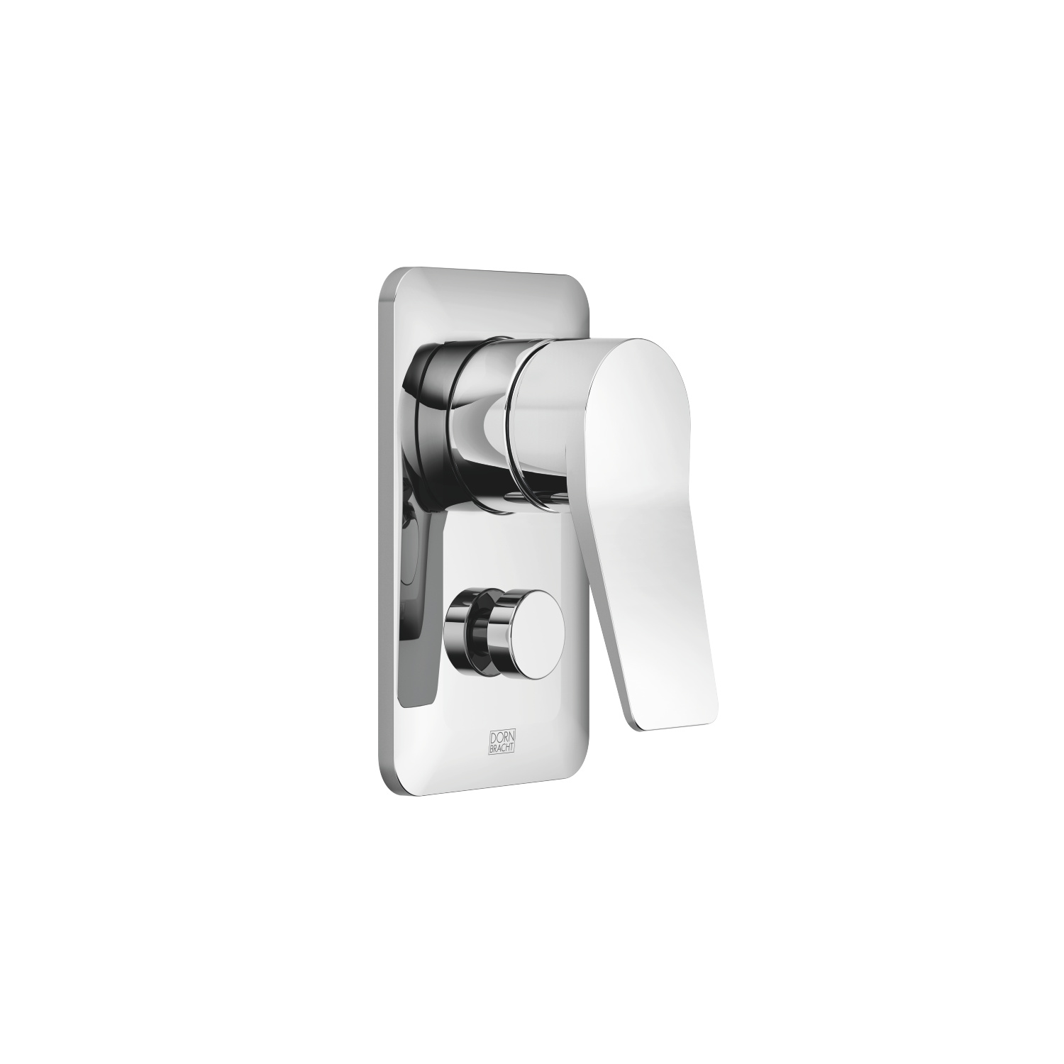 Concealed single-lever mixer with diverter - polished chrome - 36 120 845-00