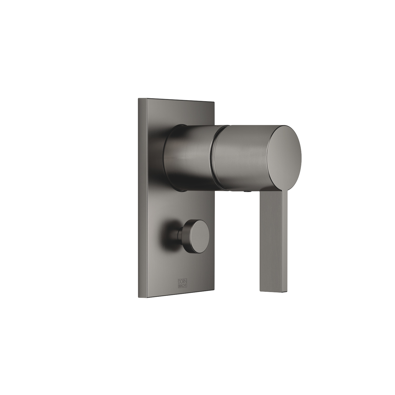 Concealed single-lever mixer with diverter - Dark Platinum matt