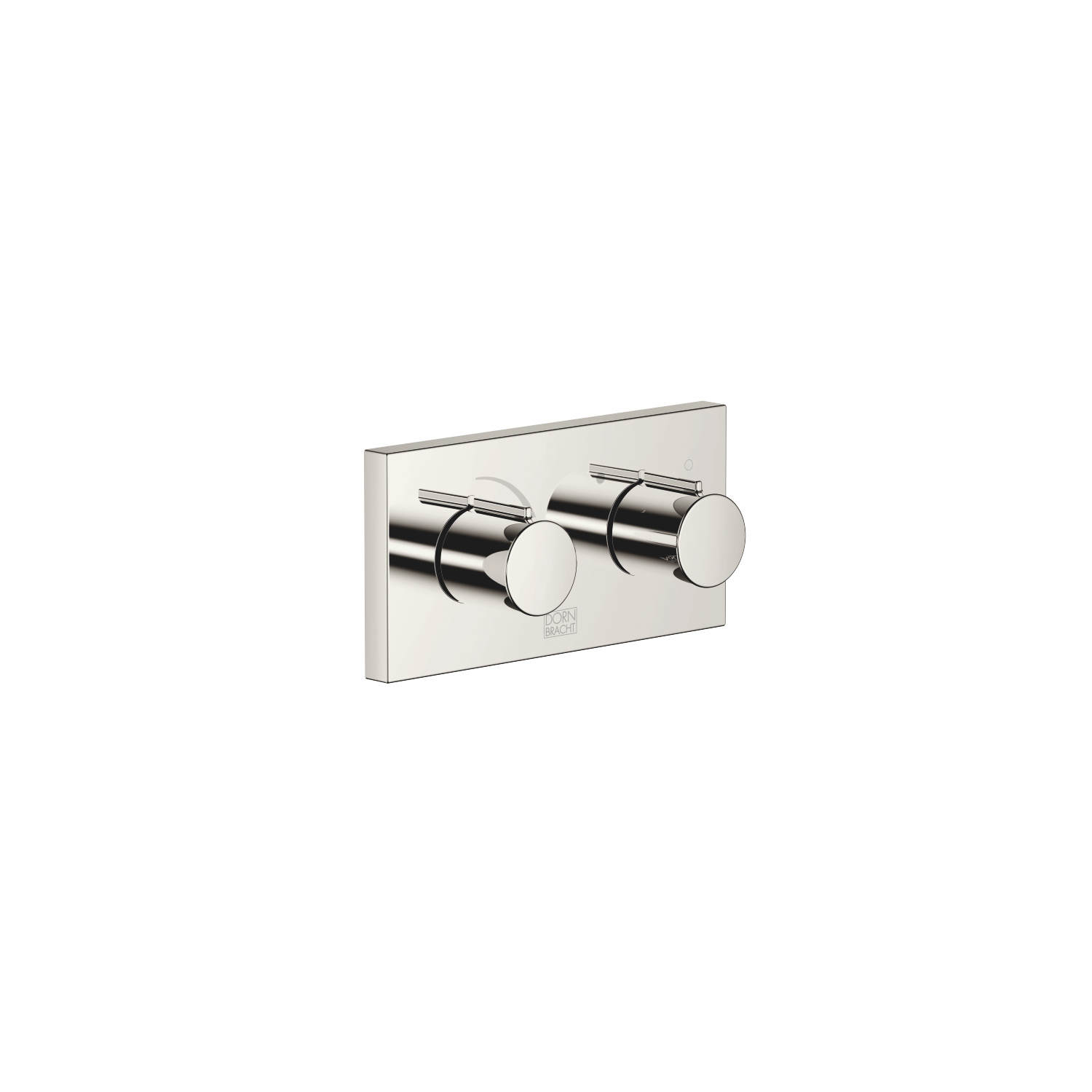 xGATE Mixer valve with volume control for wall mounting - platinum