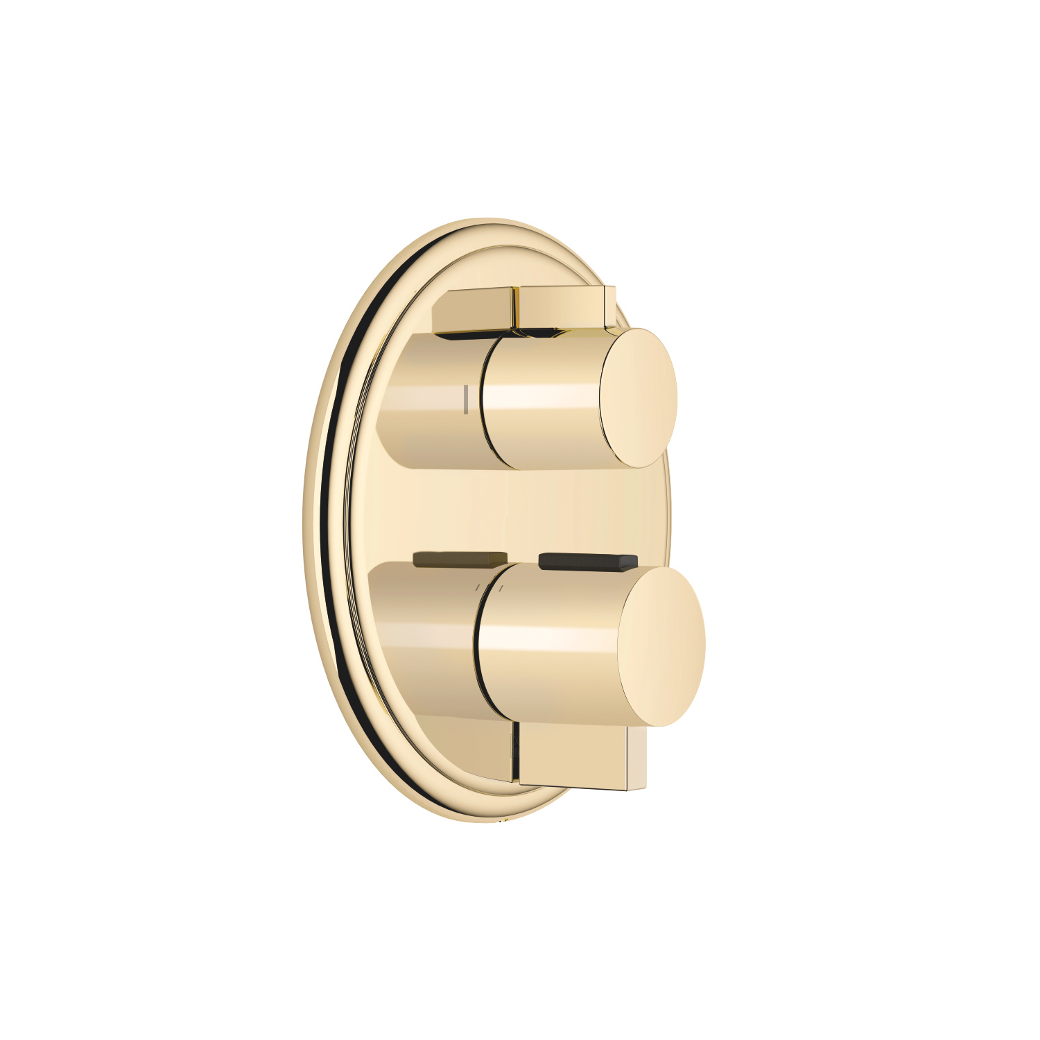 Concealed thermostat with two-way volume control - Durabrass