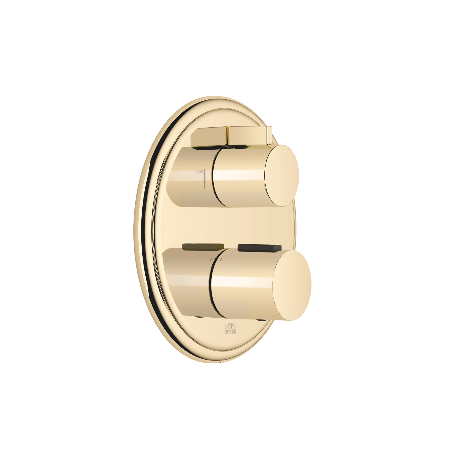 Concealed thermostat with two function volume control - Durabrass
