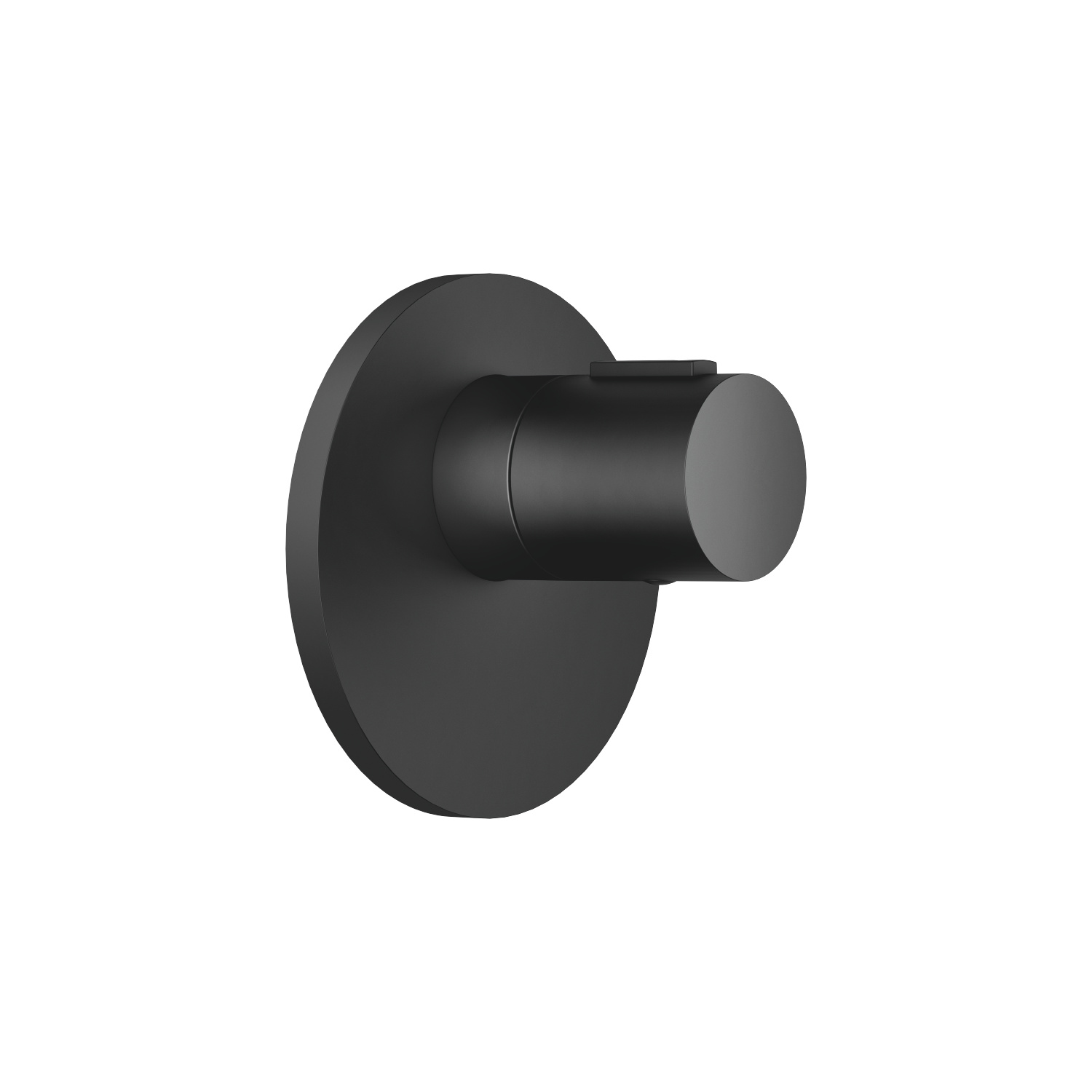 "xTOOL Concealed thermostat without volume control 1/2"" - matt black"