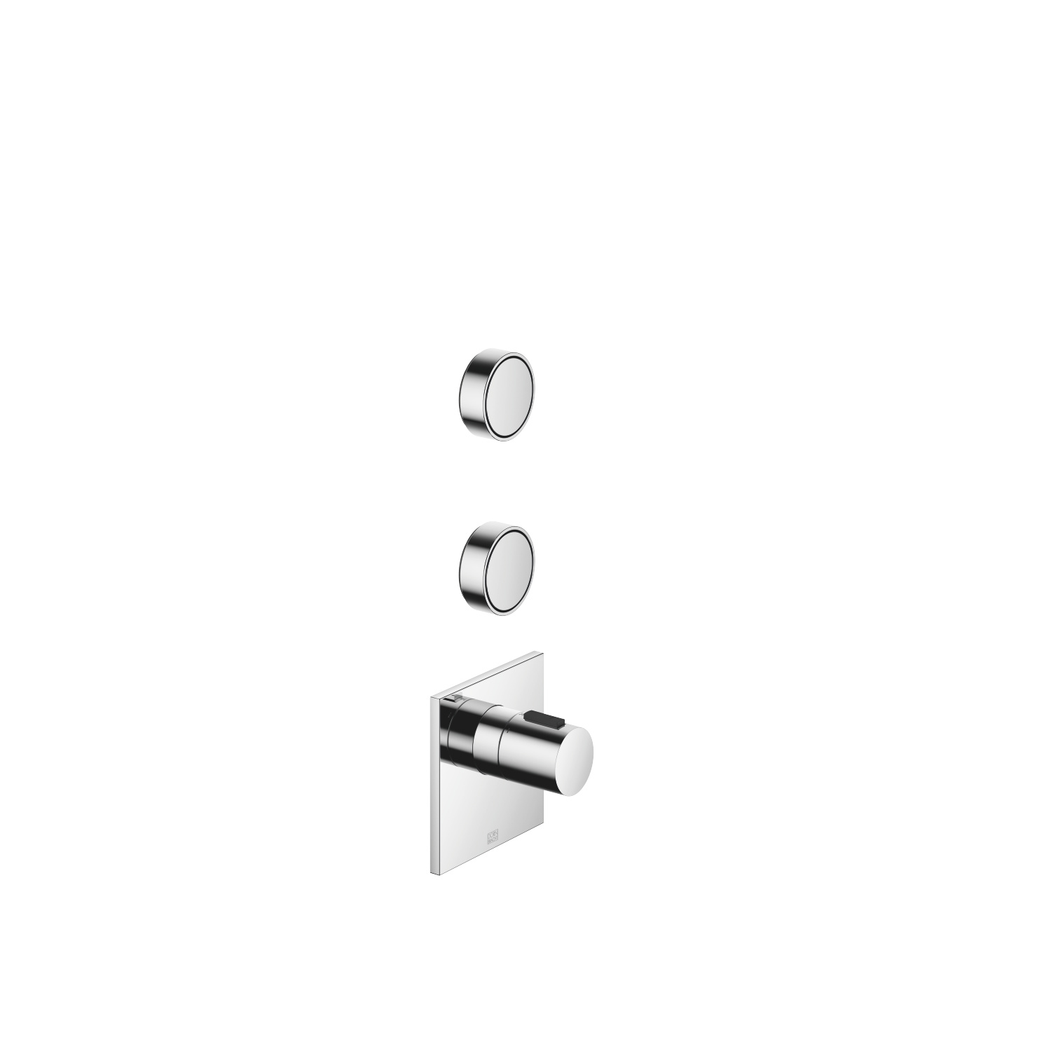 """xTOOL Concealed thermostat with two volume controls 1/2"""" - polished chrome"""
