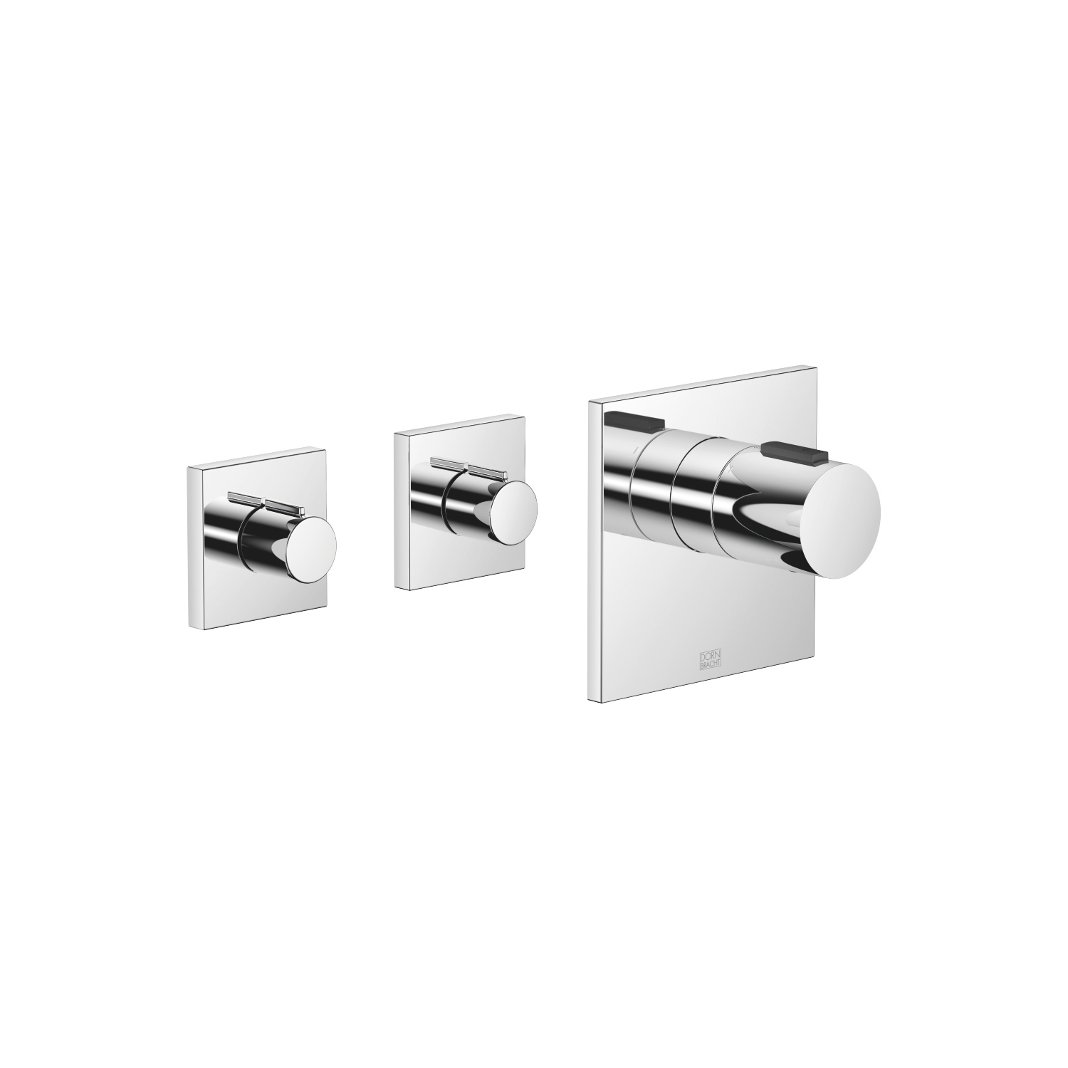 xTOOL Thermostat module with 2 valves - polished chrome