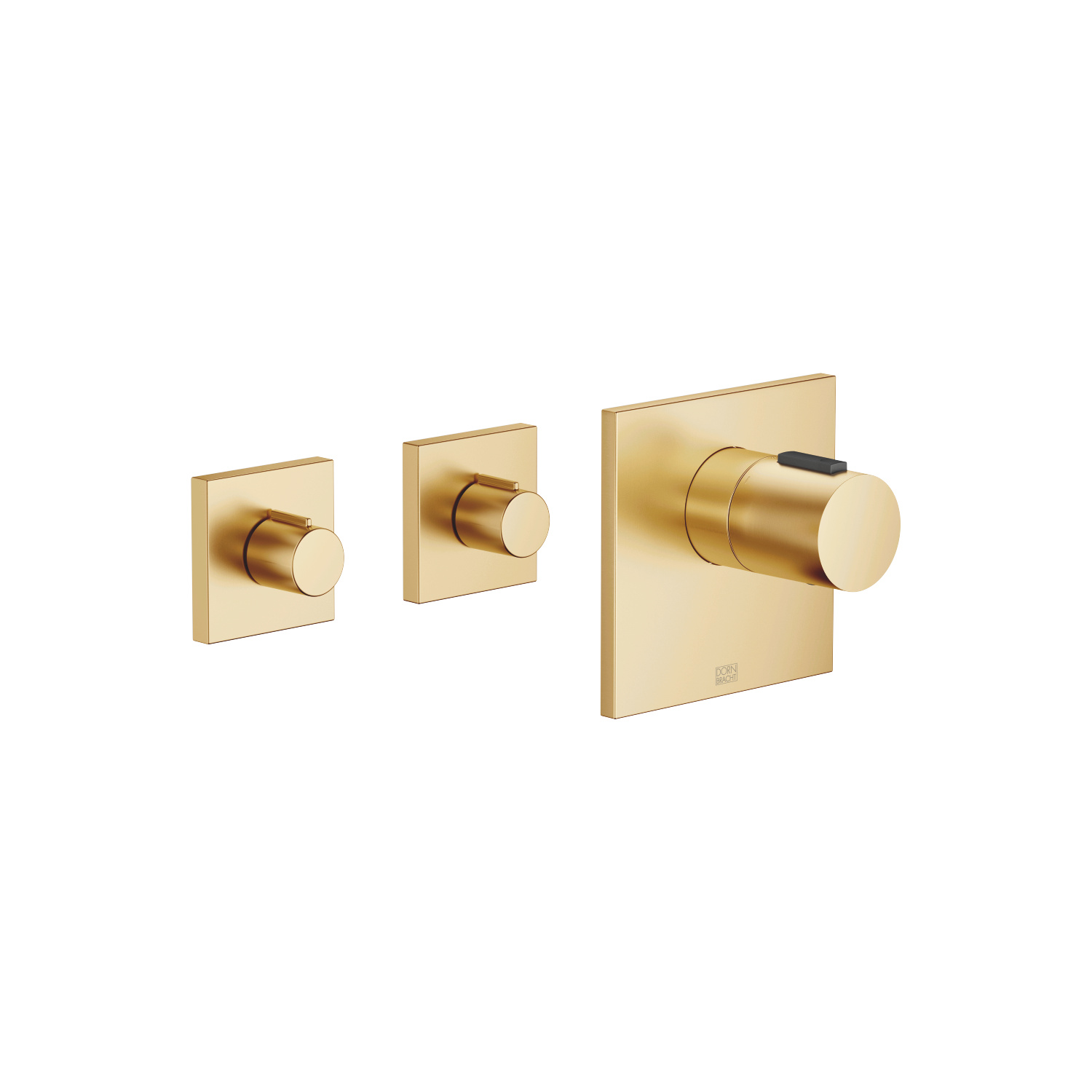 xTOOL Thermostat module with 2 valves - brushed Durabrass