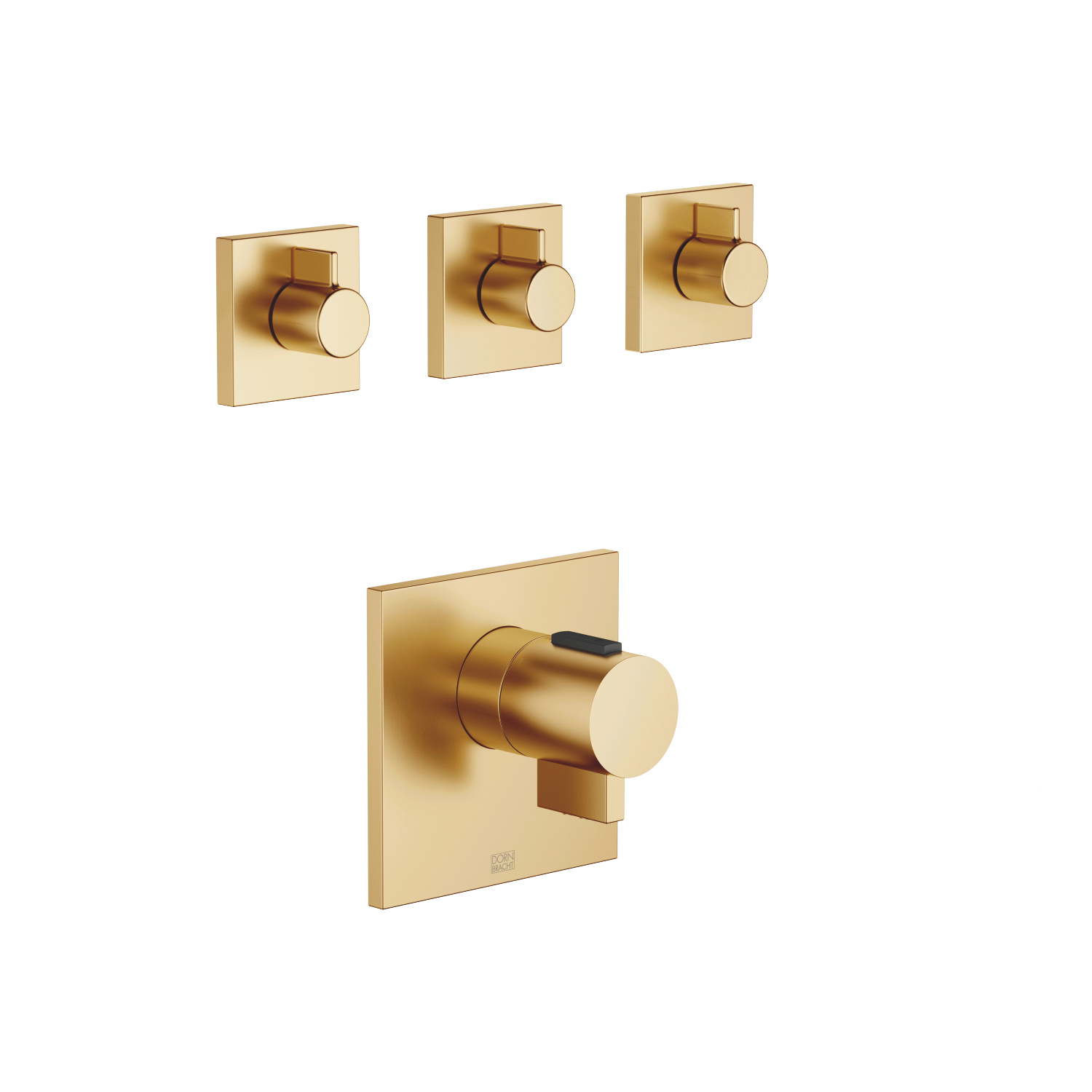 xTOOL thermostat - Brushed Durabrass