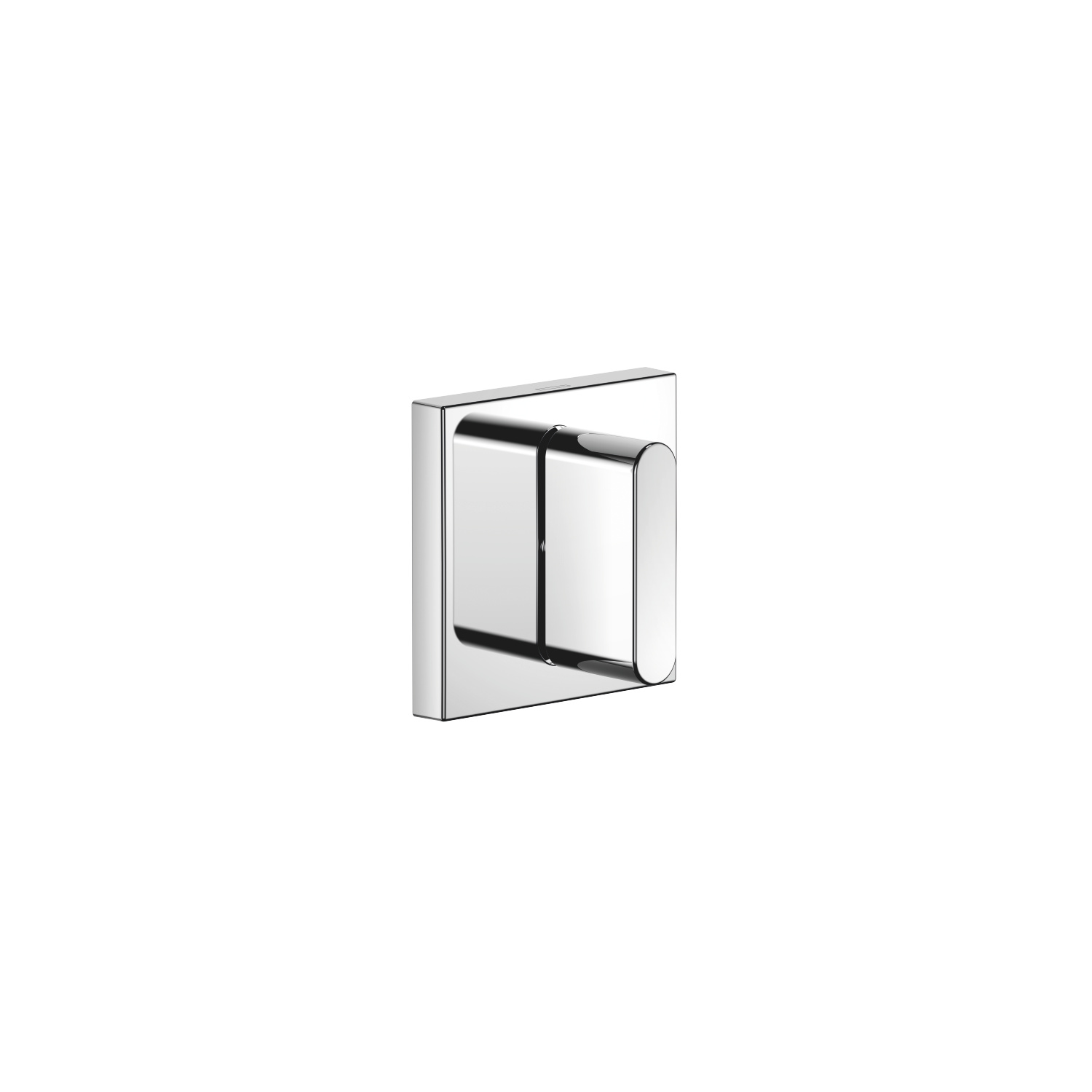 """Wall valve clockwise closing cold 1/2"""" - polished chrome"""